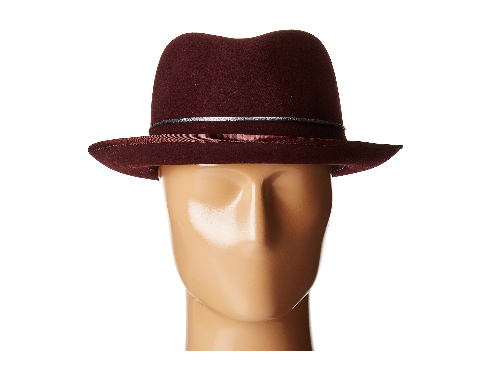 Lyst - Kangol Corded Hiro Trilby in Purple for Men e30a27810477