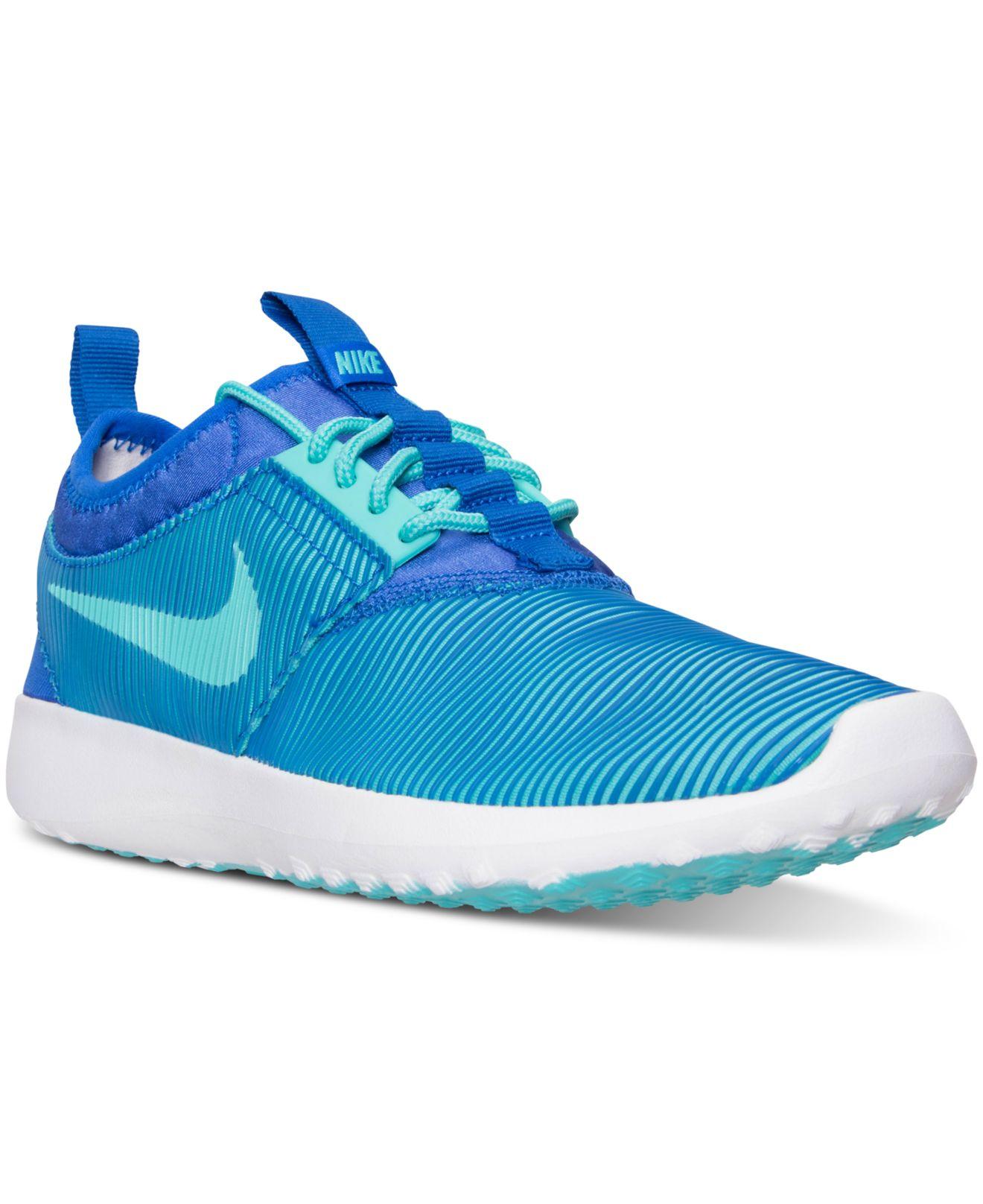 online retailer 3fbf8 b741e Lyst - Nike Women s Juvenate Sm Casual Sneakers From Finish Line in Blue