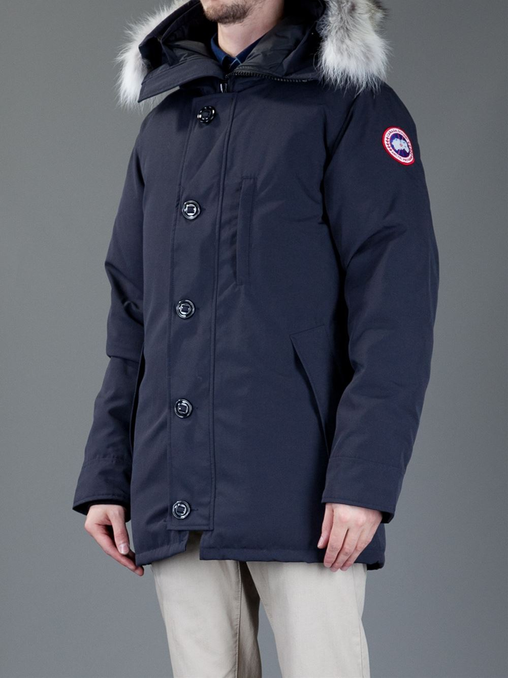 Canada Goose chateau parka sale fake - Canada goose 'chateau' Parka in Blue for Men | Lyst