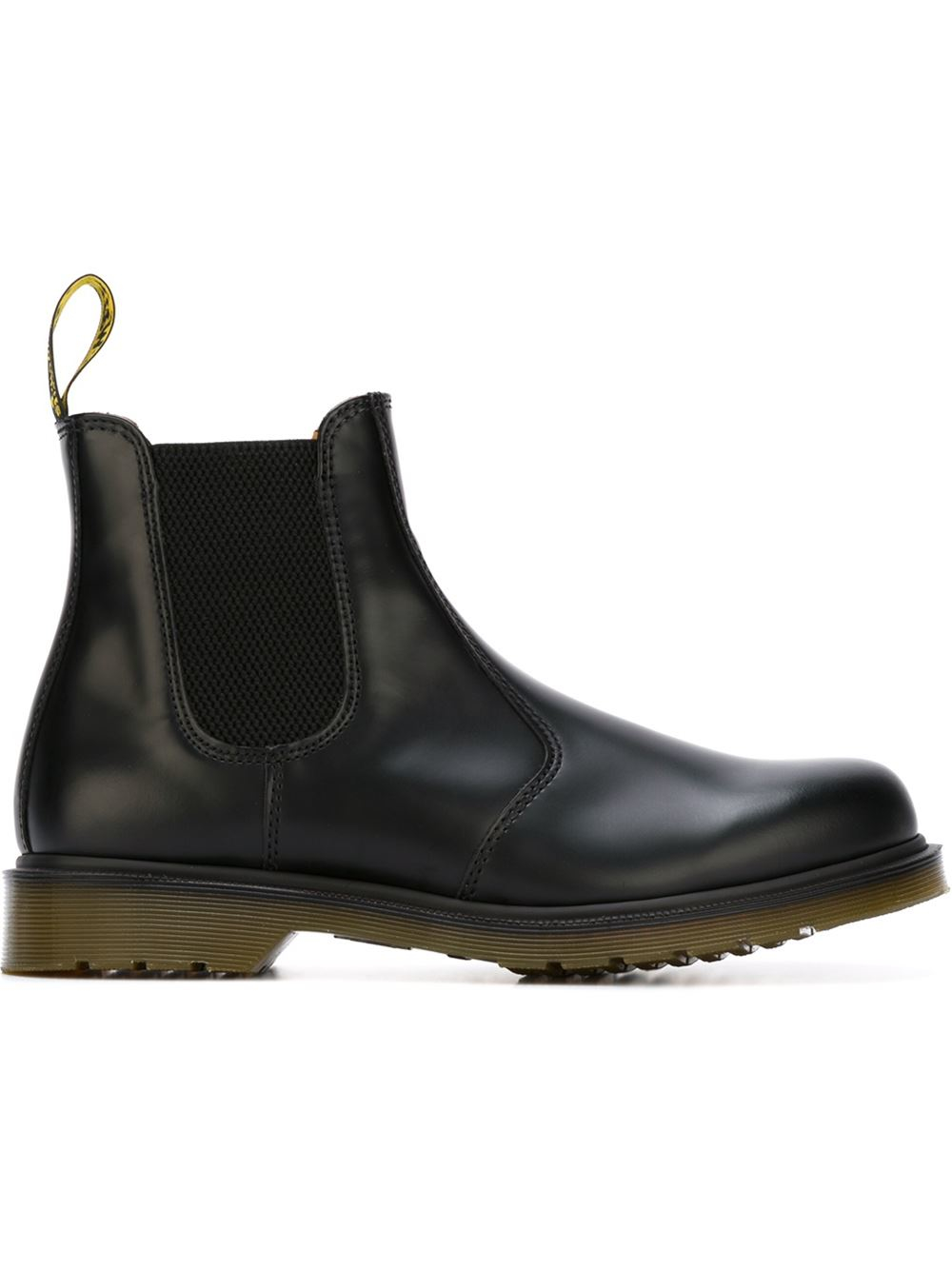 dr martens 39 chelsea 39 boots in black for men lyst. Black Bedroom Furniture Sets. Home Design Ideas