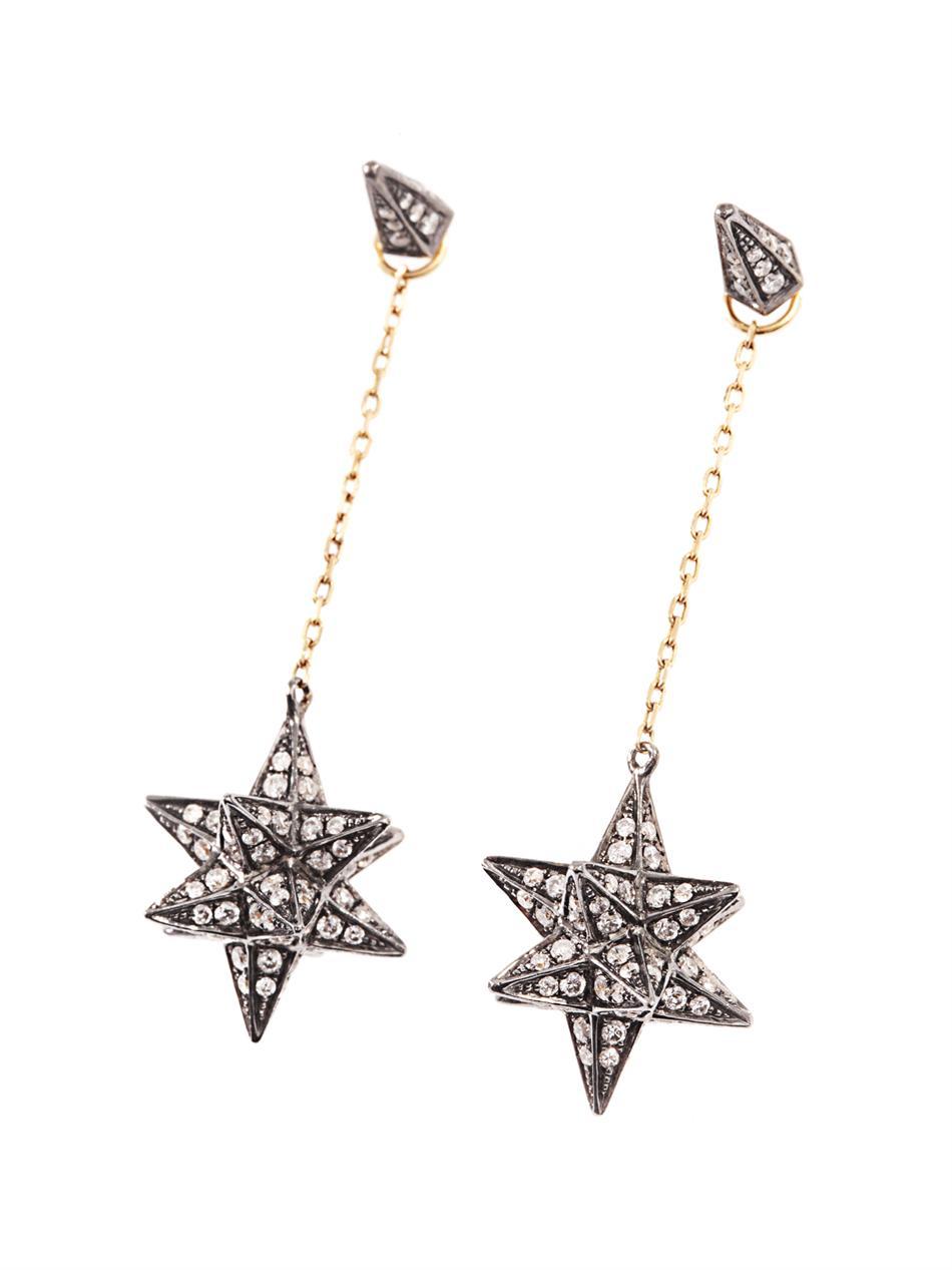 Diamant Merkaba Et Simple Tarifs Noor Boucle D'oreille Rose D'or pzmCmkv6