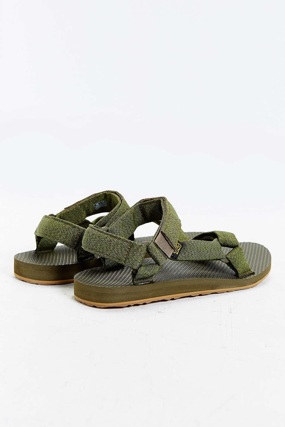 d79cfa5b83ae4e Lyst - Teva Original Universal Urban Men s Sandals in Green for Men
