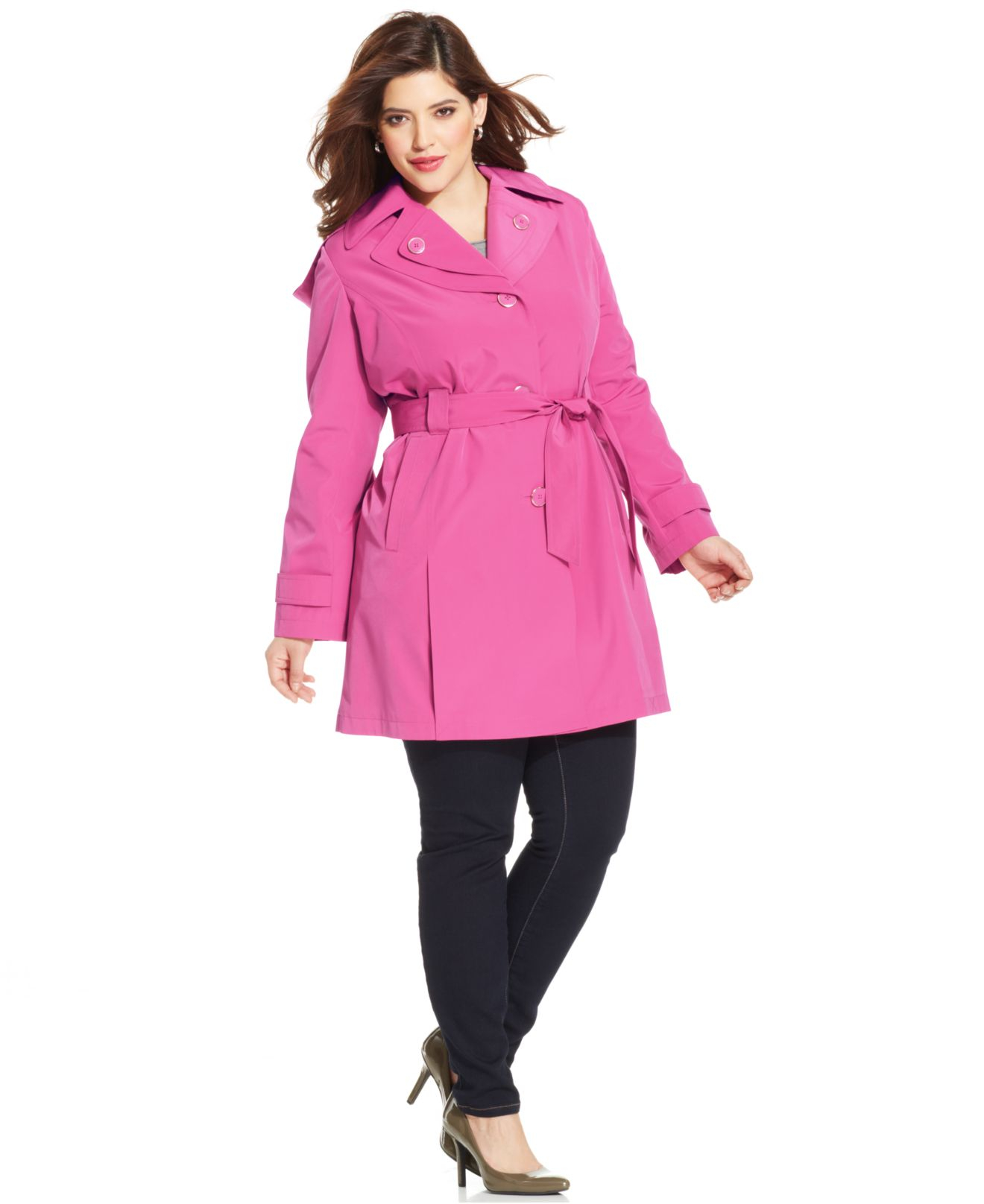 Plus Size Trench Coats | Womens Trenchcoats | Plus Size Now
