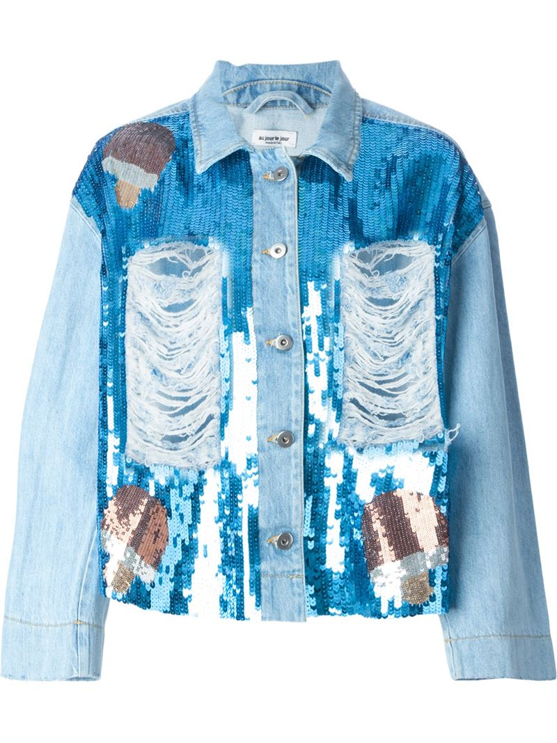 Must Have This Season: Embroidered Jeans Jacket