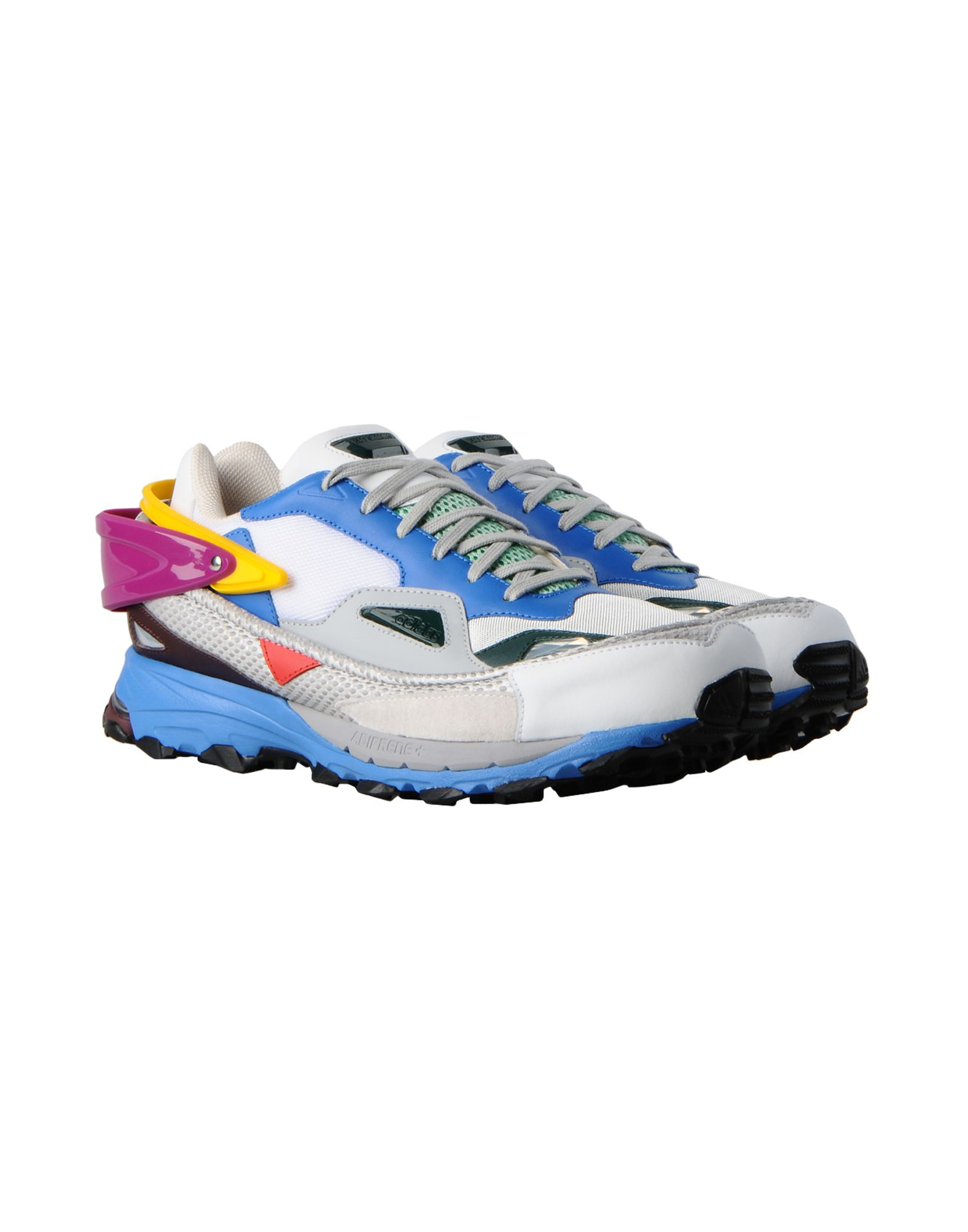 dbeea520a03f Raf Simons - Blue Response Trail Contrasting Fabric Trainers for Men - Lyst