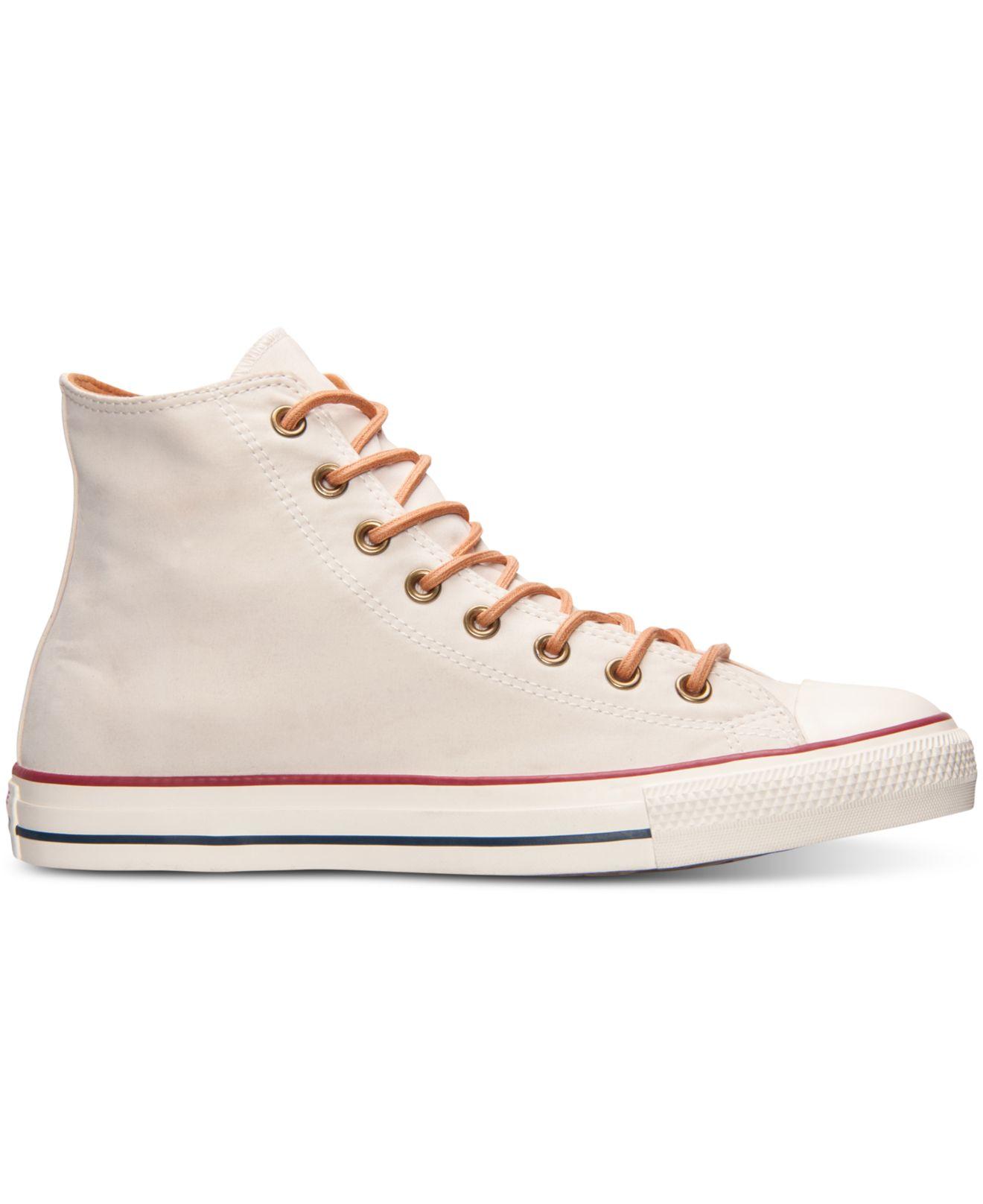 e171cef44ef3 Lyst - Converse Men s Chuck Taylor Hi Peached Canvas Casual Sneakers ...