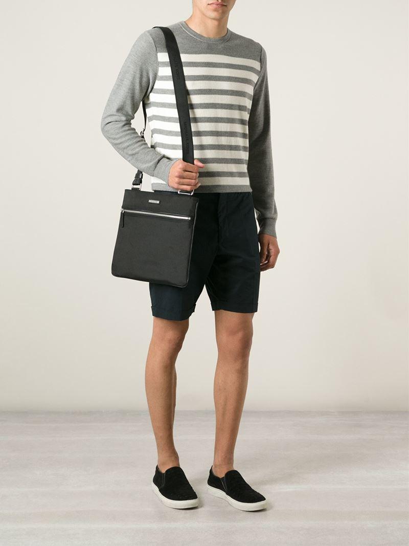 4e64e5a7a3f2 Michael Kors 'Windsor' Messenger Bag in Black for Men - Lyst