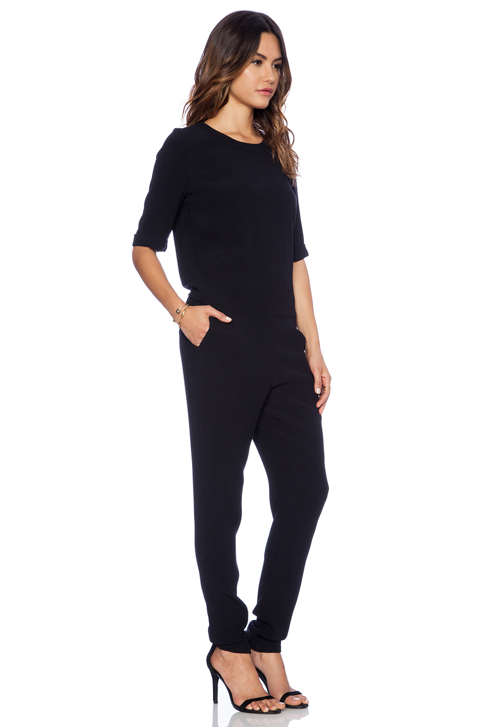 df656f0cefd3 3 4 Sleeve Jumpsuit Related Keywords   Suggestions - 3 4 Sleeve ...