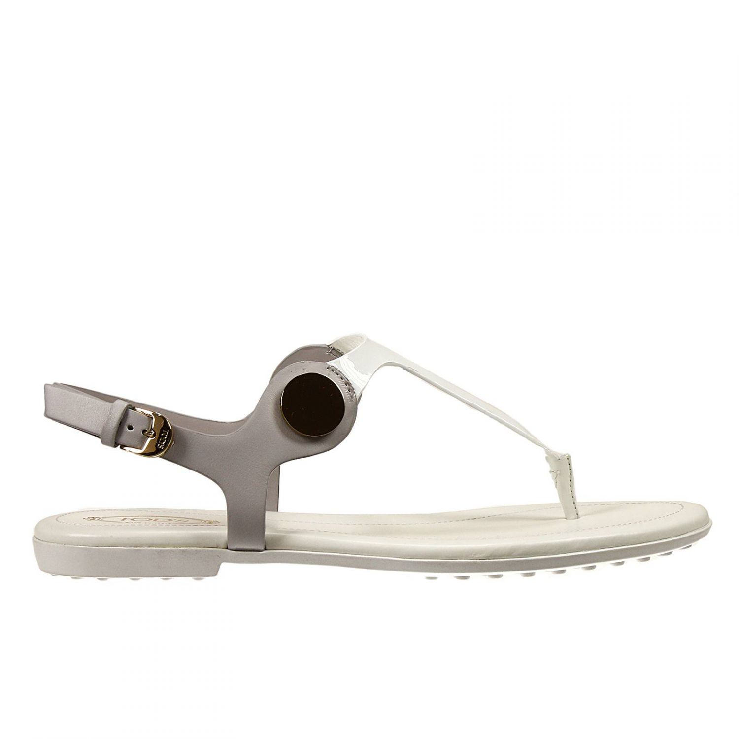 sale store Tod's Patent Leather Thong Sandals comfortable cheap online discount pay with visa buy cheap fashion Style pictures for sale wfiaboTKLb