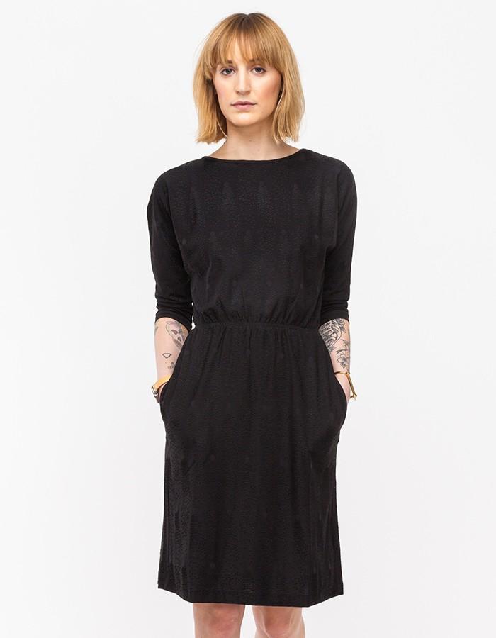 a p c robe plume in black lyst. Black Bedroom Furniture Sets. Home Design Ideas