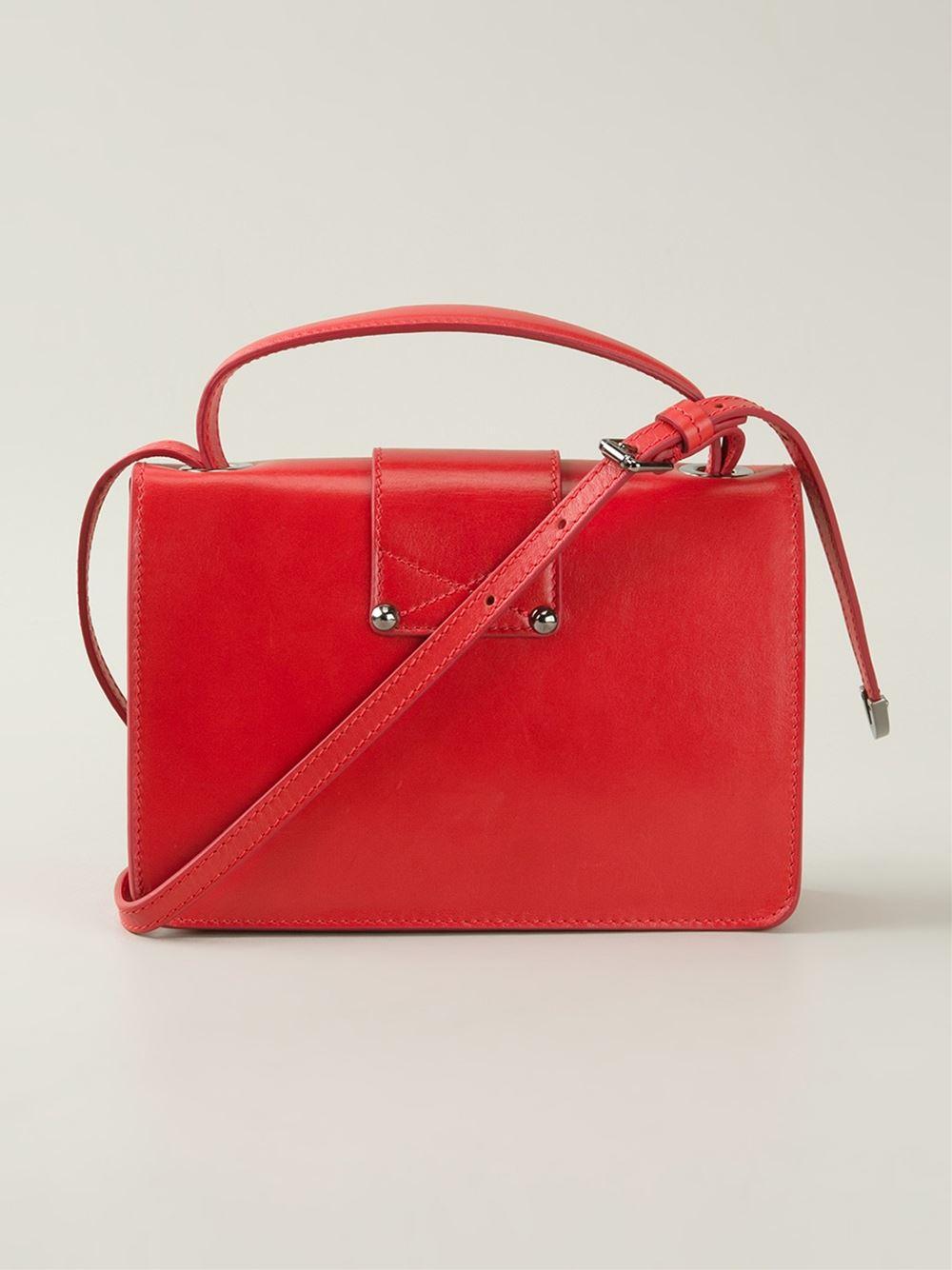 Rebel/XB crossbody bag - Red Jimmy Choo London NmgOIZd4s9