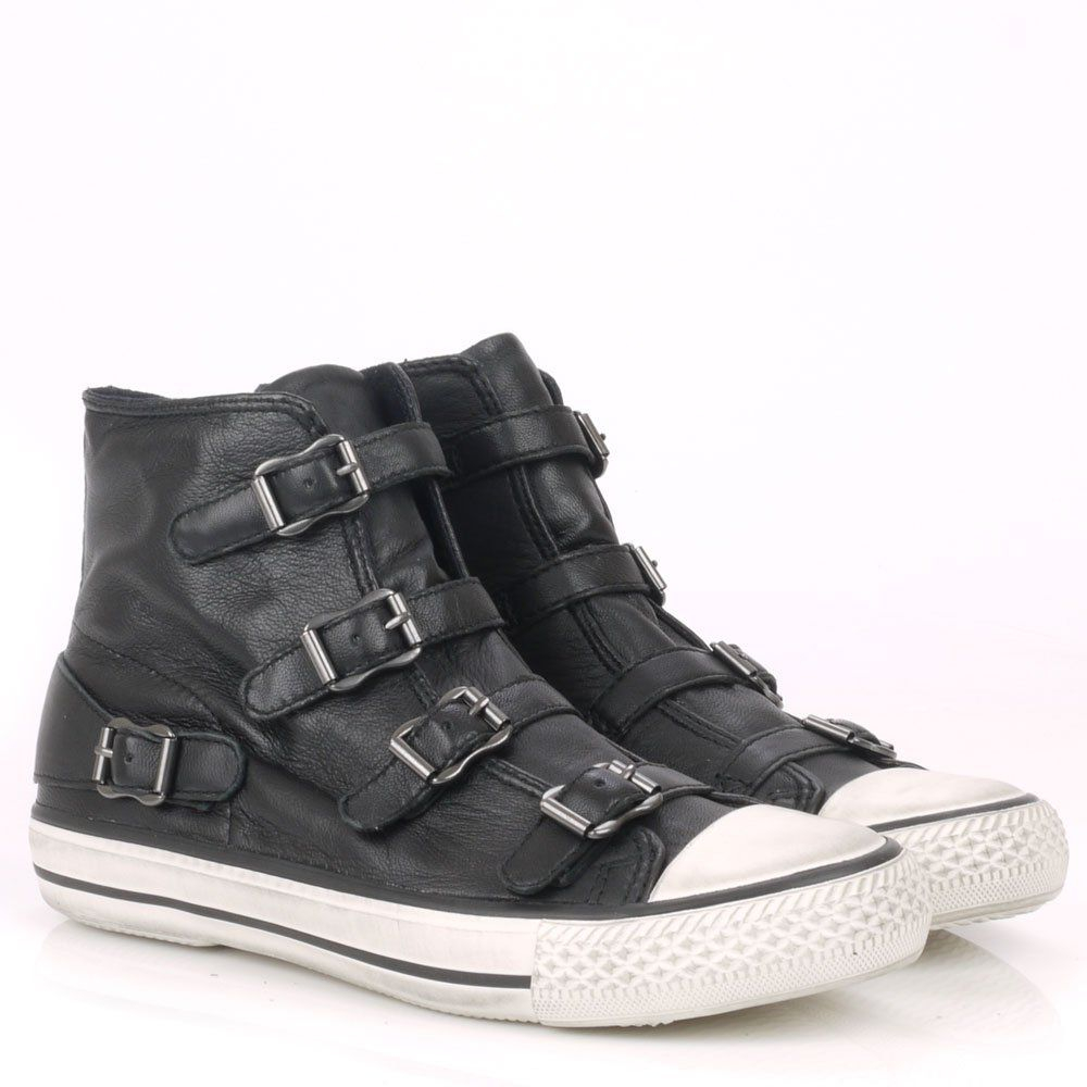 ash toe trainers in black for lyst