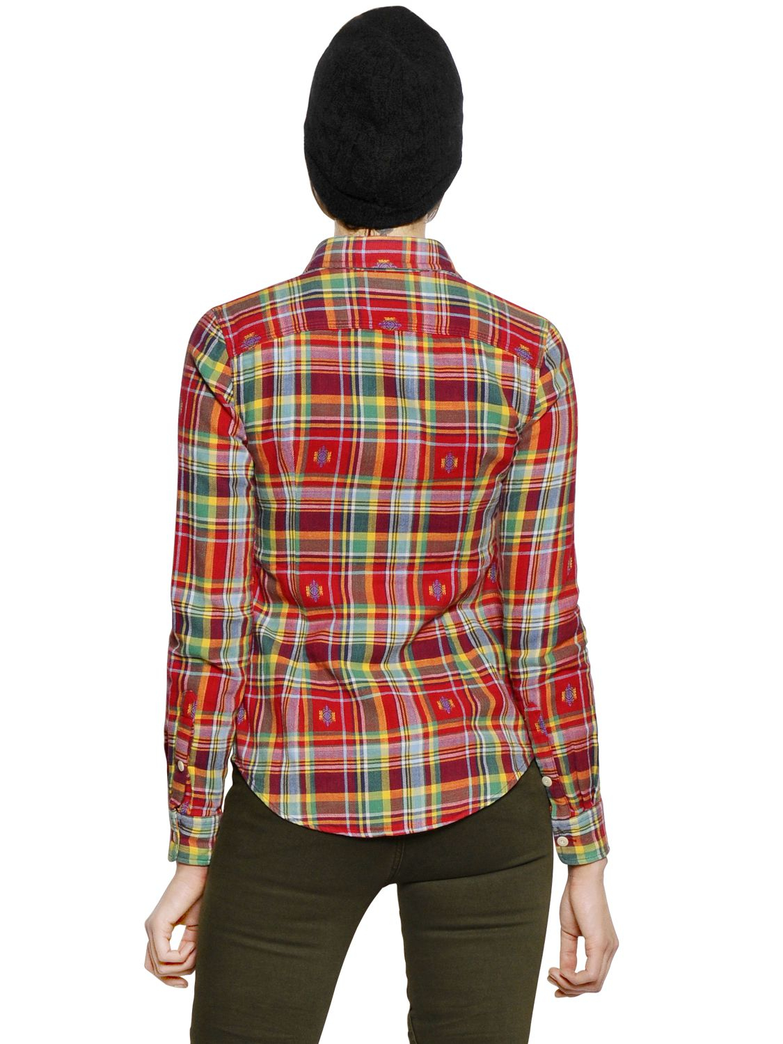 Lyst Polo Ralph Lauren Tartan Cotton Flannel Shirt In