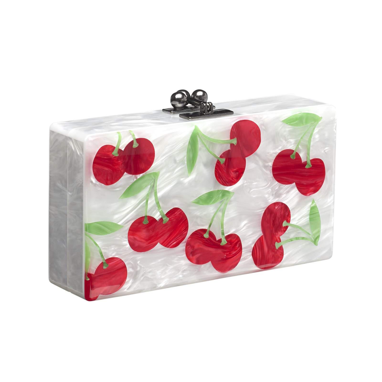 Edie Parker Cherries Bag Charm Zxidt