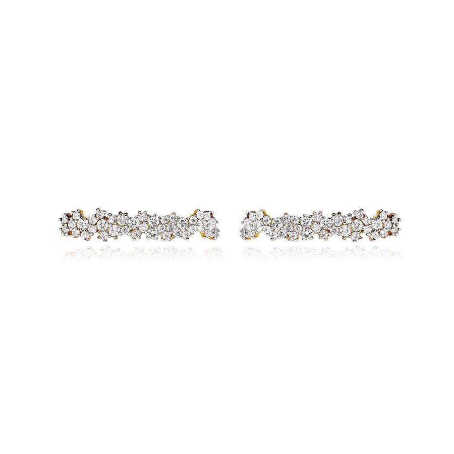 Gioconda 18-karat Gold Diamond Earrings - one size Ana Khouri lYjDHXDC