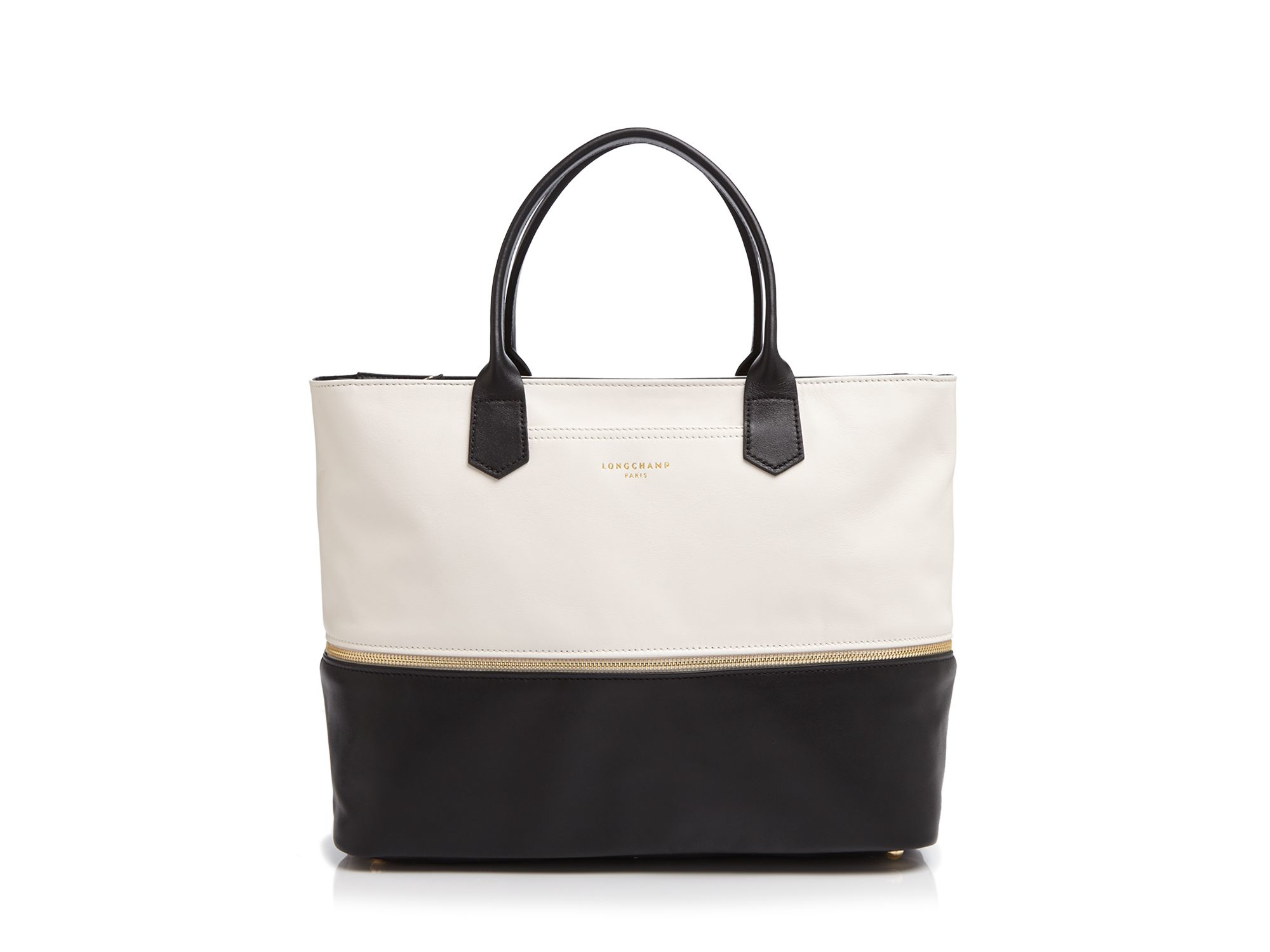 010b747dd122 Lyst - Longchamp 2.0 Expandable Tote in Black