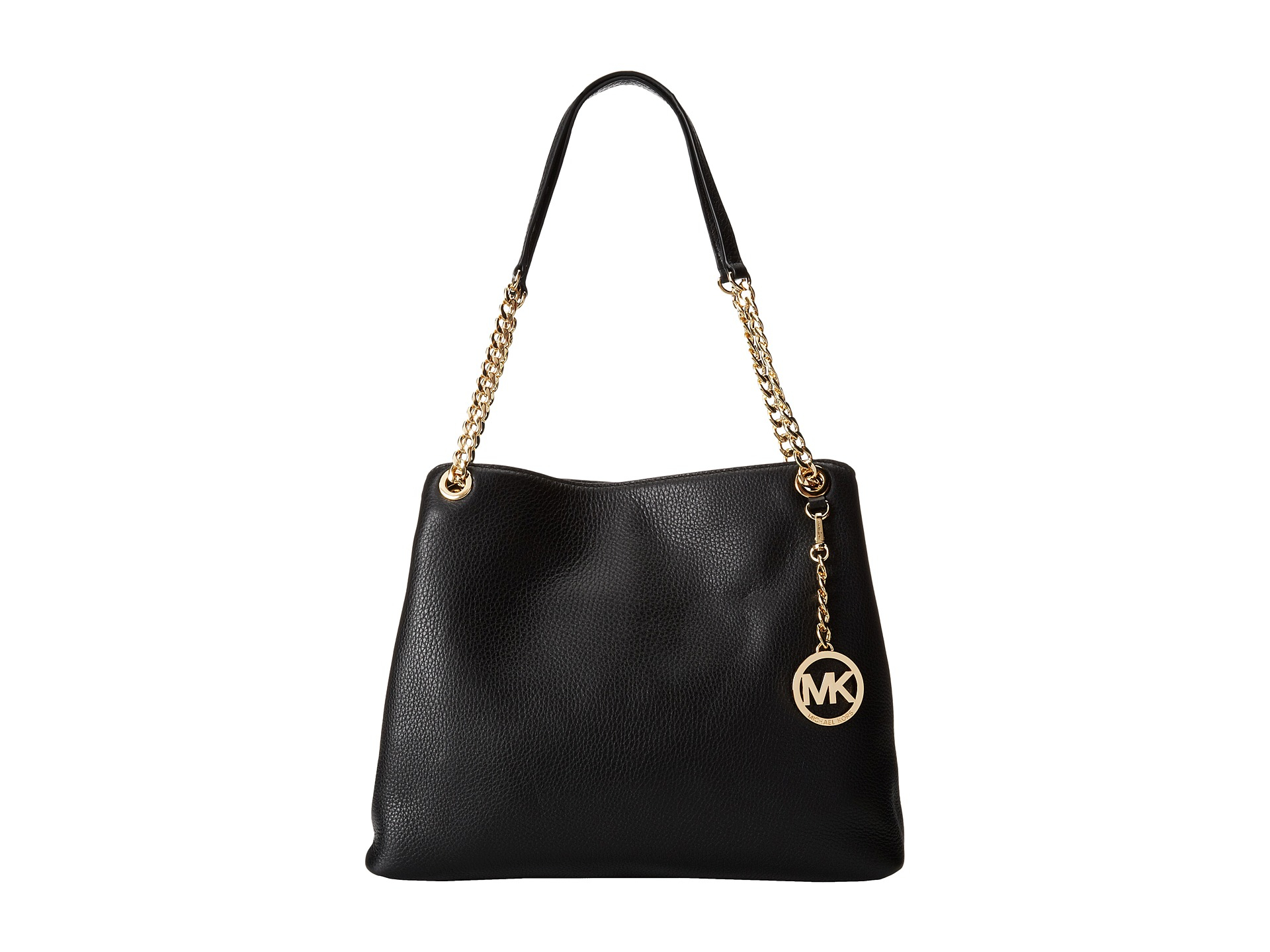 b334ac8be2a5 MICHAEL Michael Kors Jet Set Chain Item Large Shoulder Tote in Black - Lyst