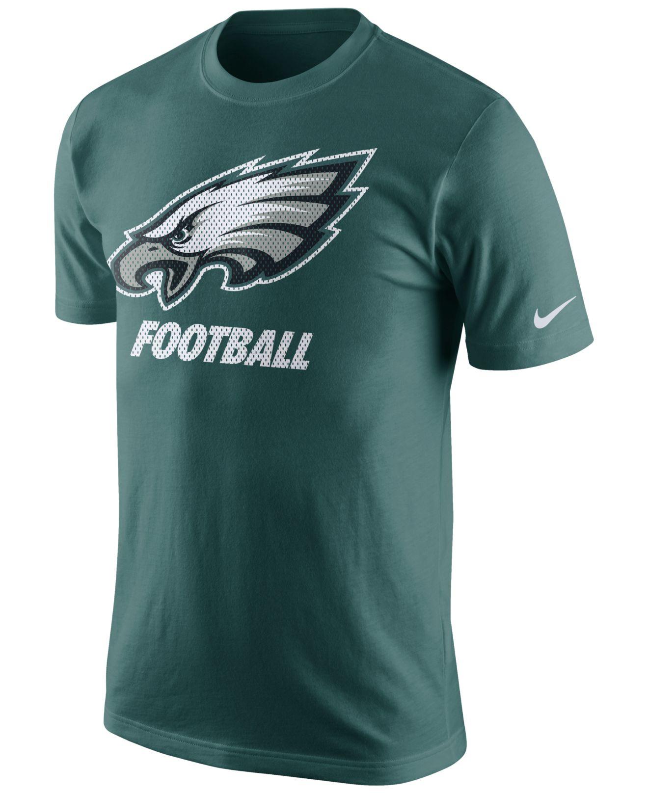 Lyst Nike Men 39 S Philadelphia Eagles Facility T Shirt In