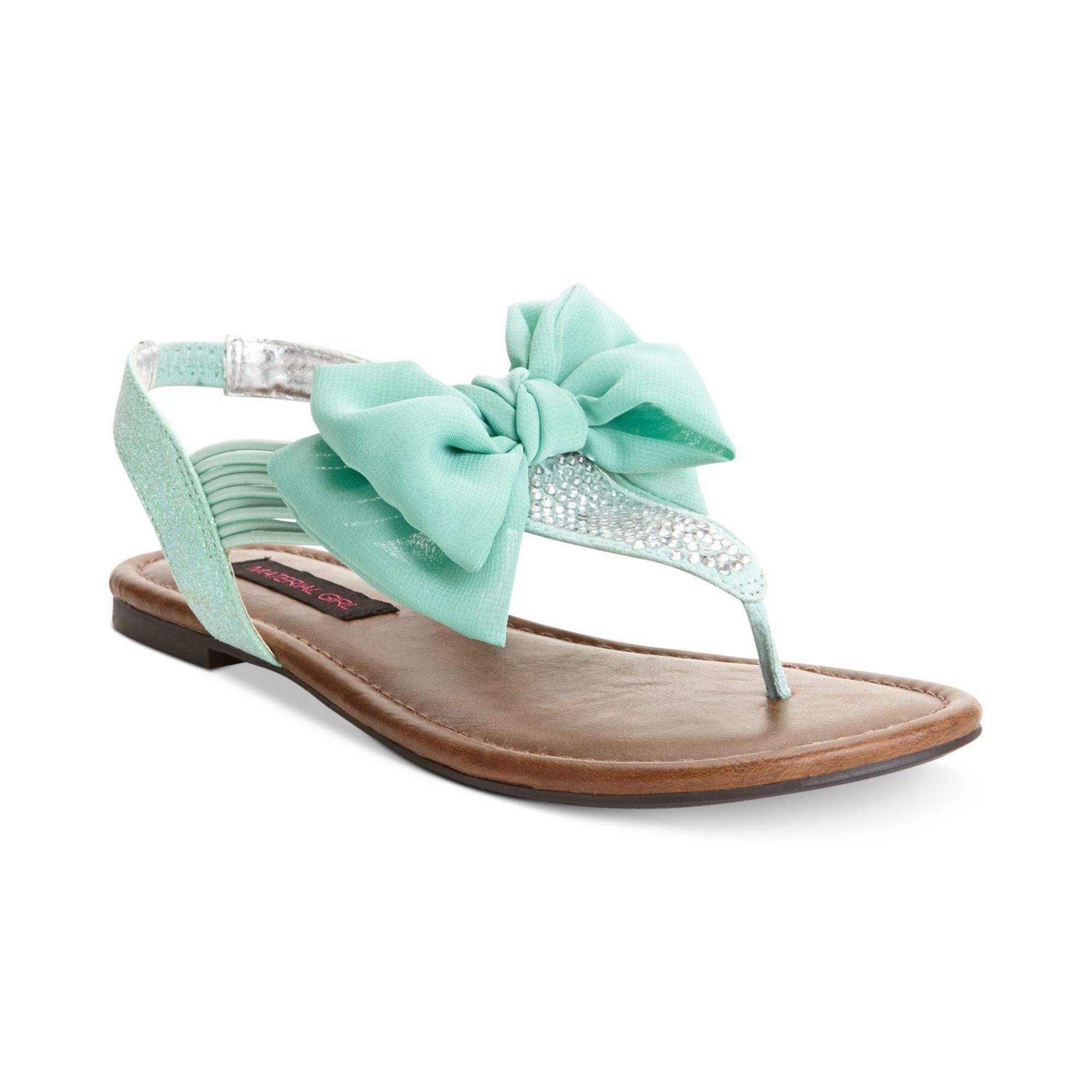 Mint Color Flat Shoes