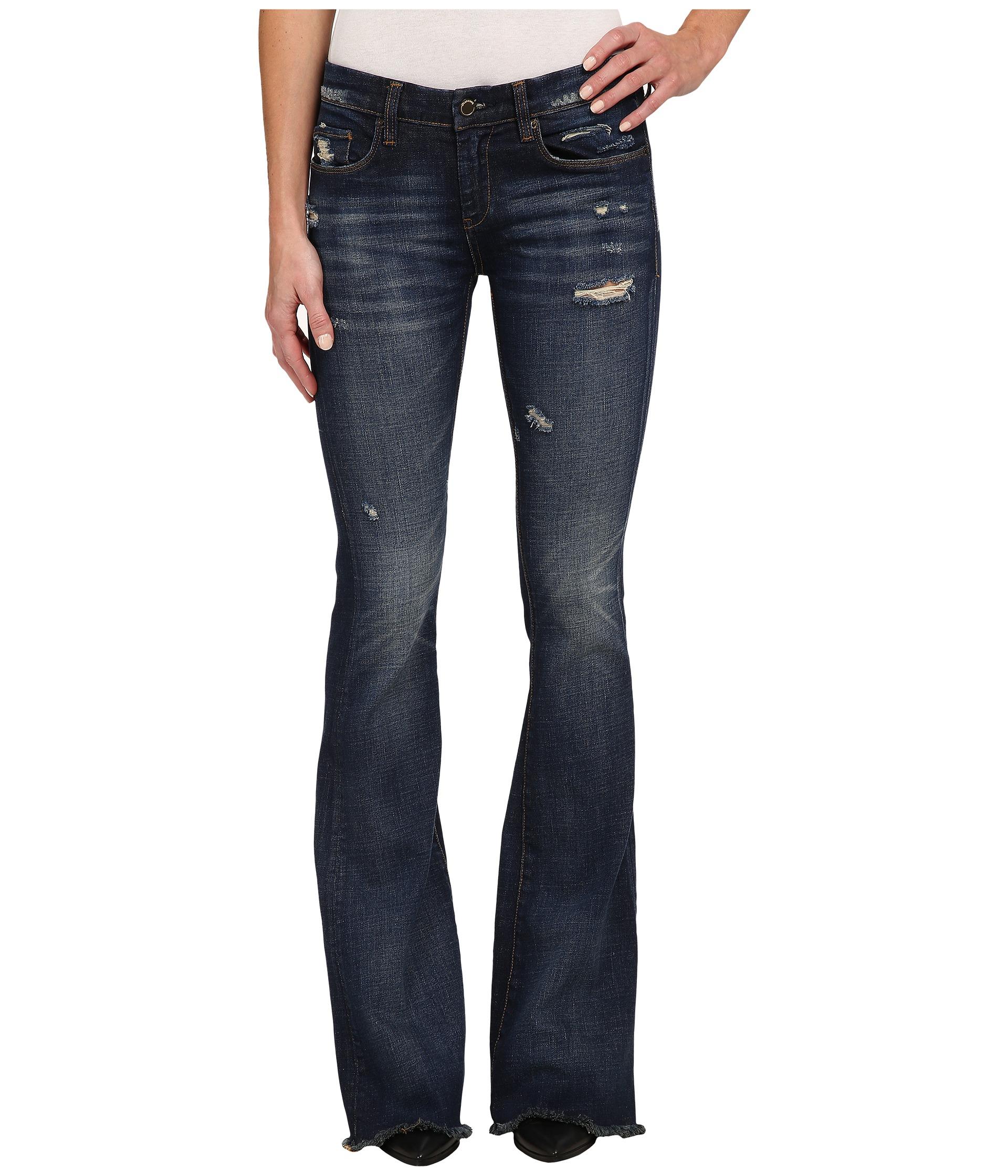 Blank Flare Jeans In Blue in Blue | Lyst