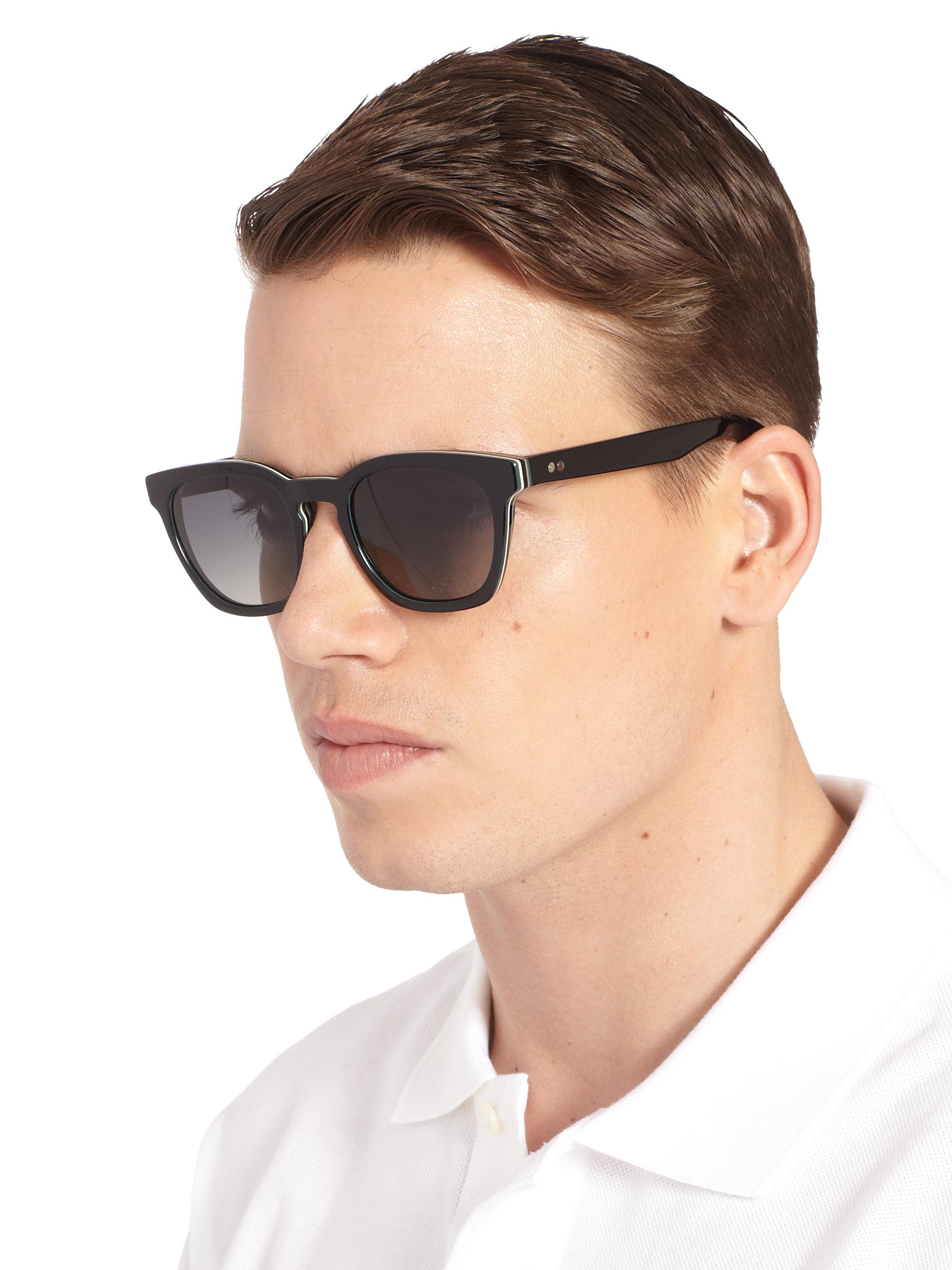 70713872ce Lyst - Paul Smith Rockley Wayfarer Sunglasses in Brown for Men