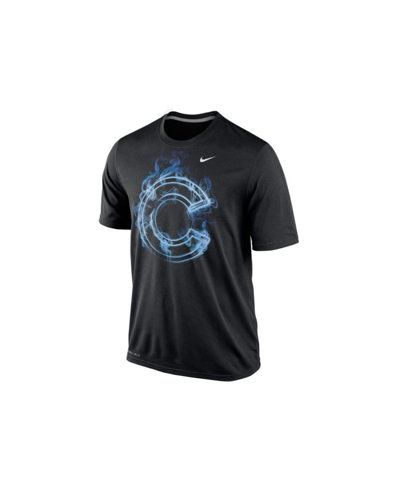 eb1df76216b Lyst - Nike Men s Chicago Cubs Legend Vapor T-shirt in Black for Men