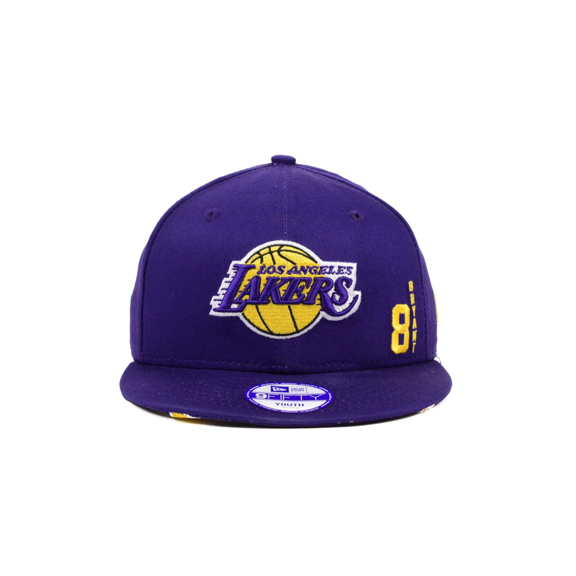 official photos f58ae 1c117 KTZ Kids Kobe Bryant Los Angeles Lakers Hardwood Classics 9fifty ...