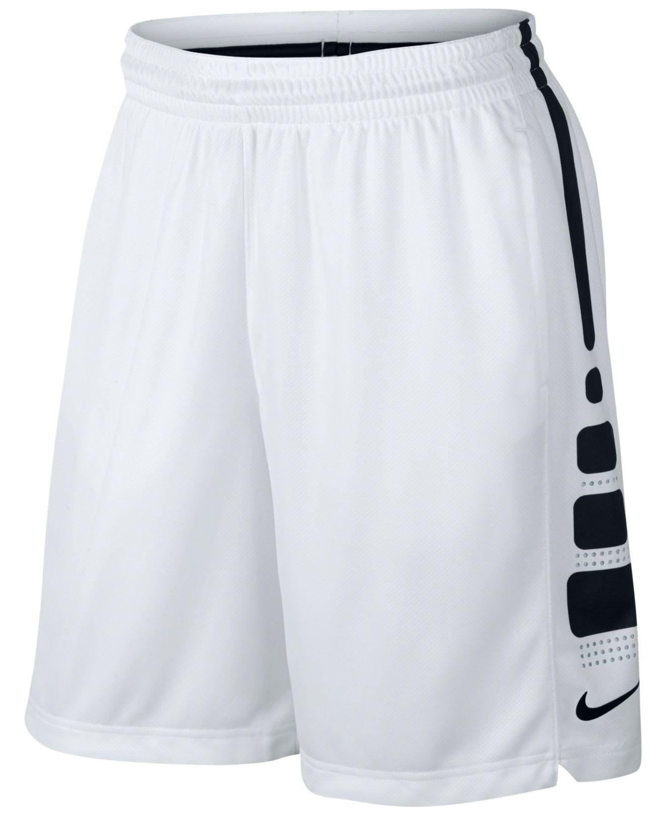 f292783d1365 Nike Elite Dri-fit Basketball Shorts in Black for Men - Lyst