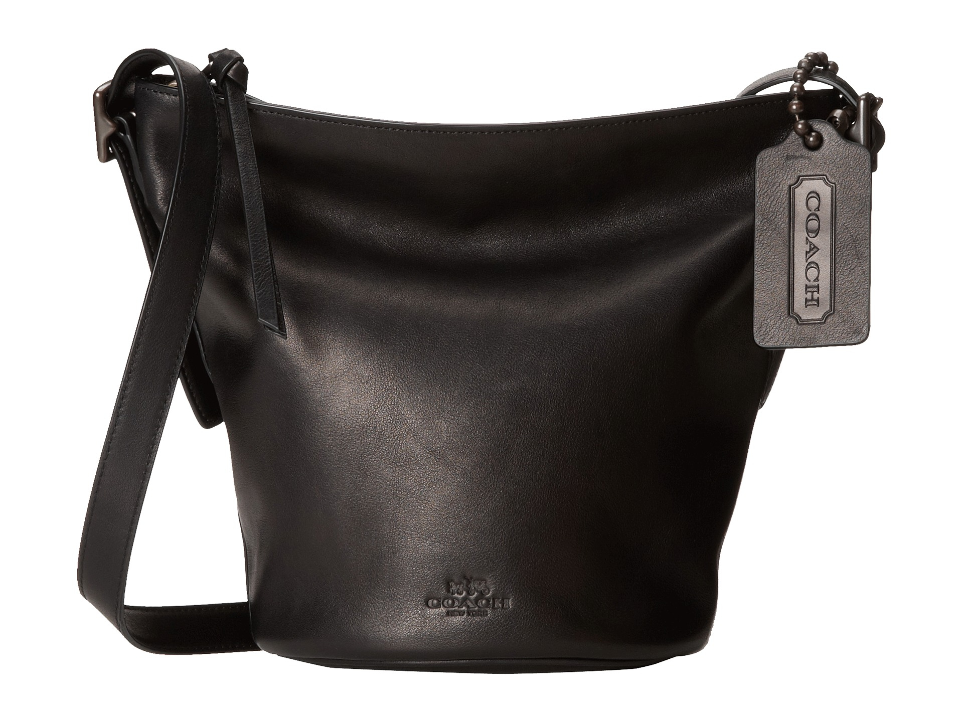 lyst coach bleecker sport mini duffle in black