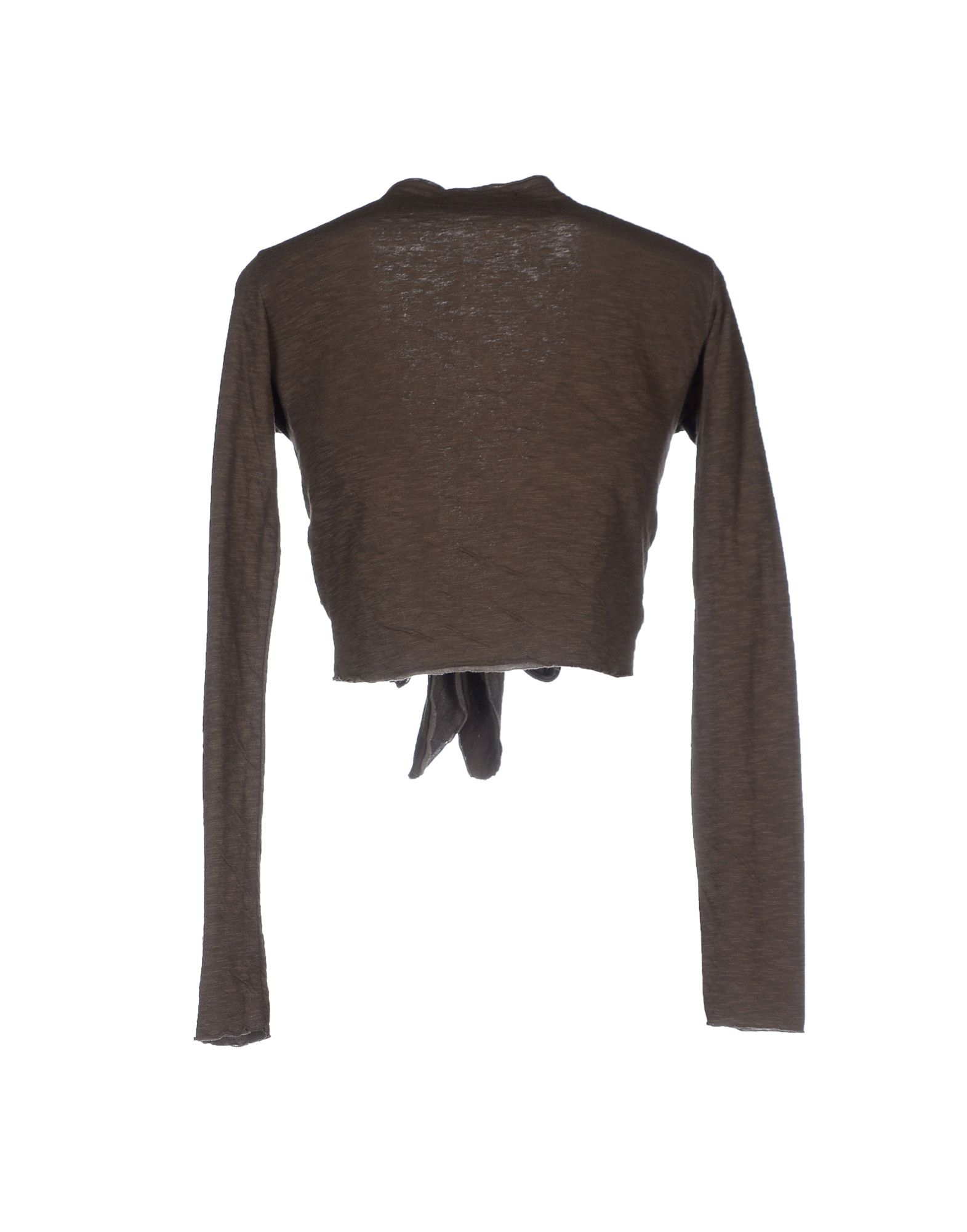 Massimo rebecchi Wrap Cardigans in Brown | Lyst