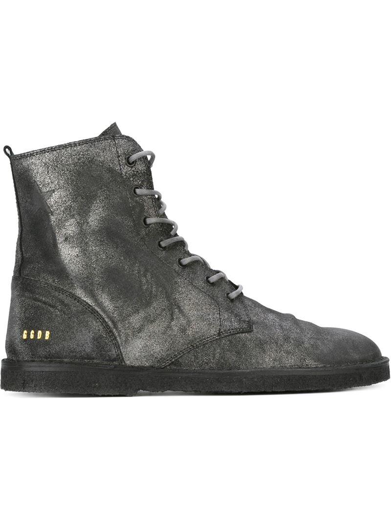 Boots Goose For Men In 'gramercy' Deluxe Lyst Golden Black Brand w5WvaxX8q