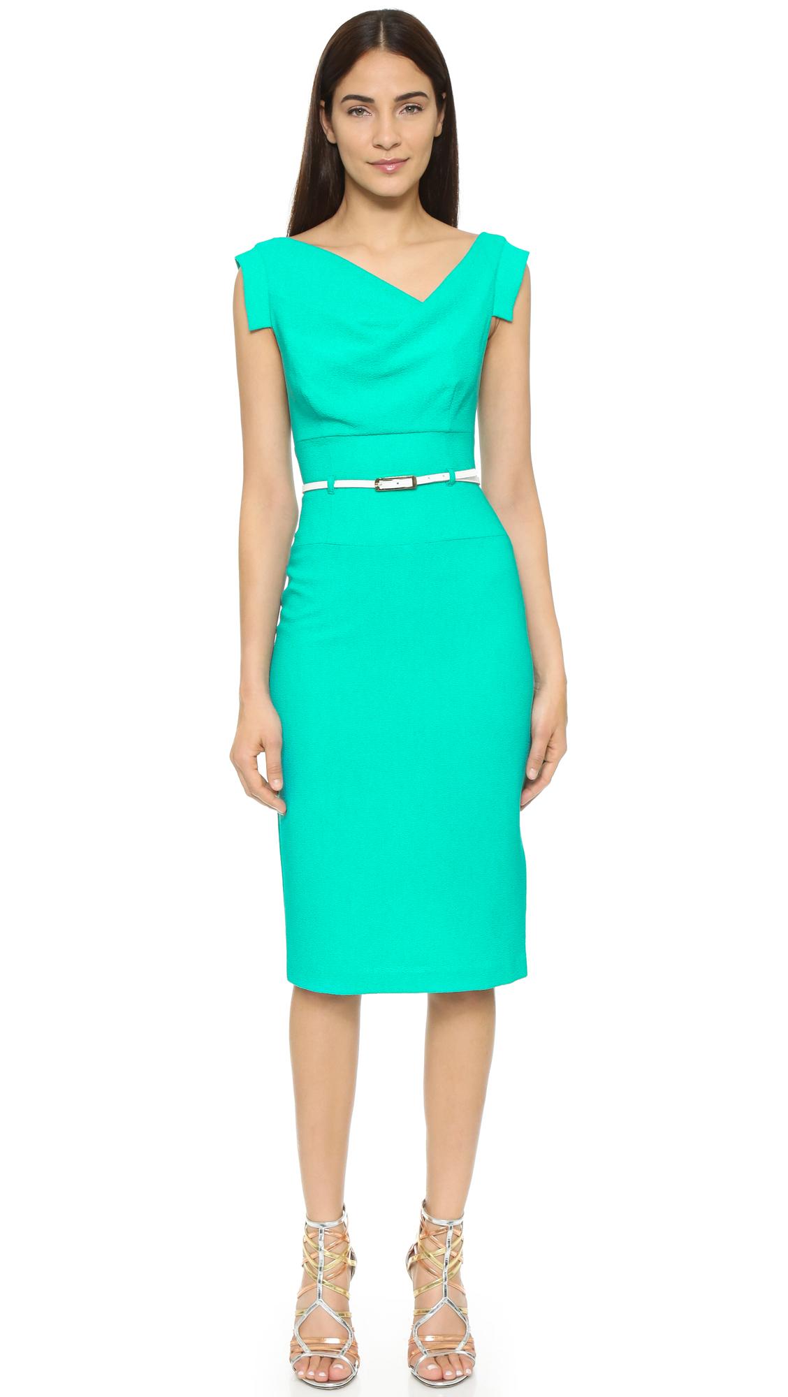 b7b6761eb95f Lyst - Black Halo Jackie O Dress in Green