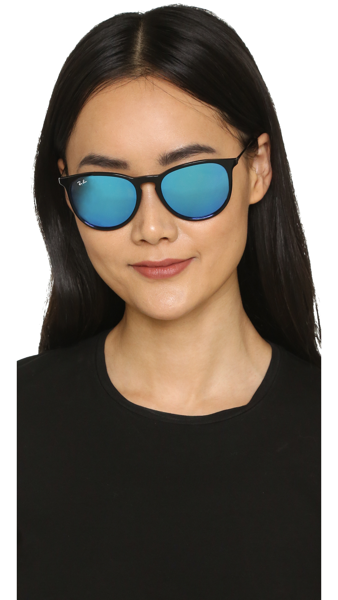 Ray Ban Erika Sunglasses In Black Lyst