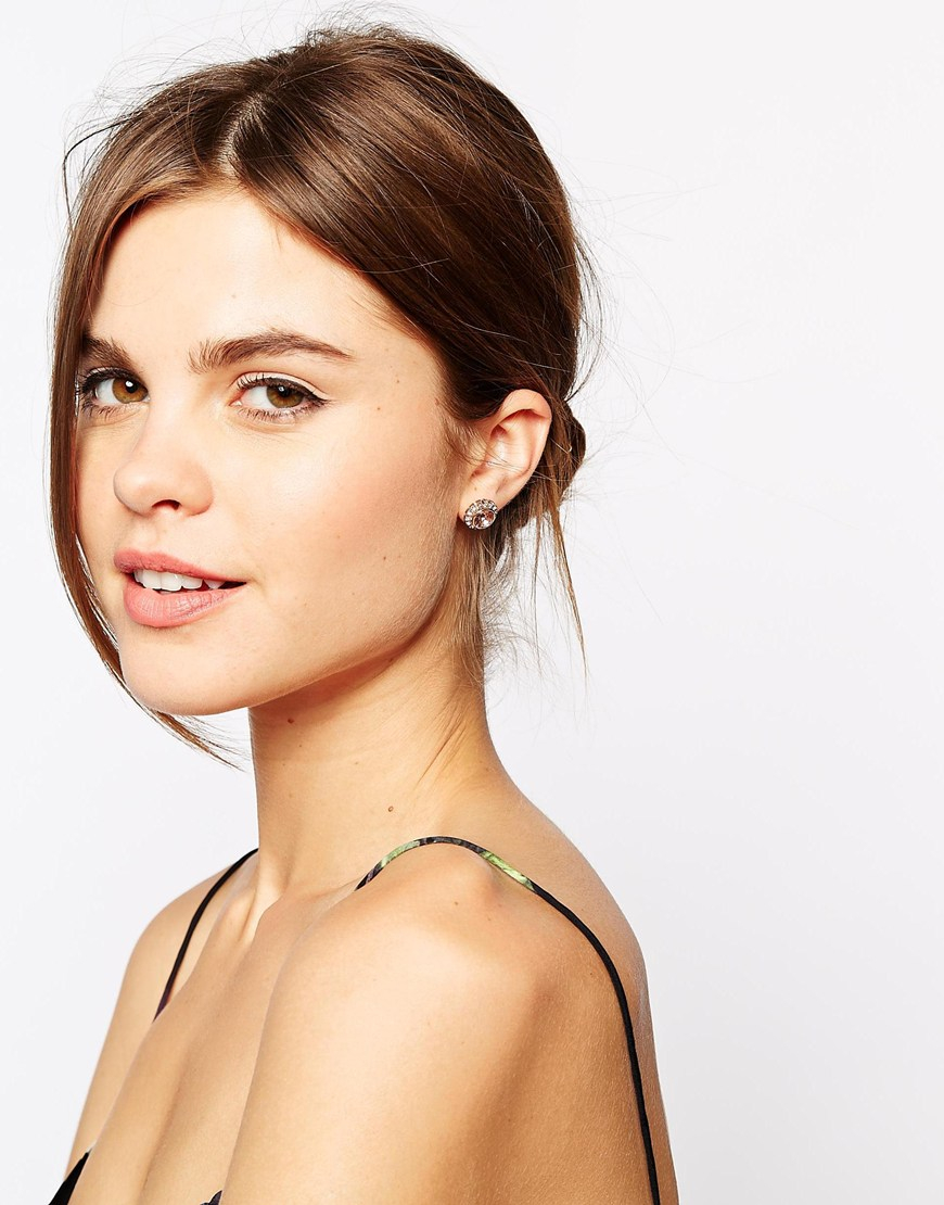 Ted Baker Crystal Heart Earrings iC7vrXYfl