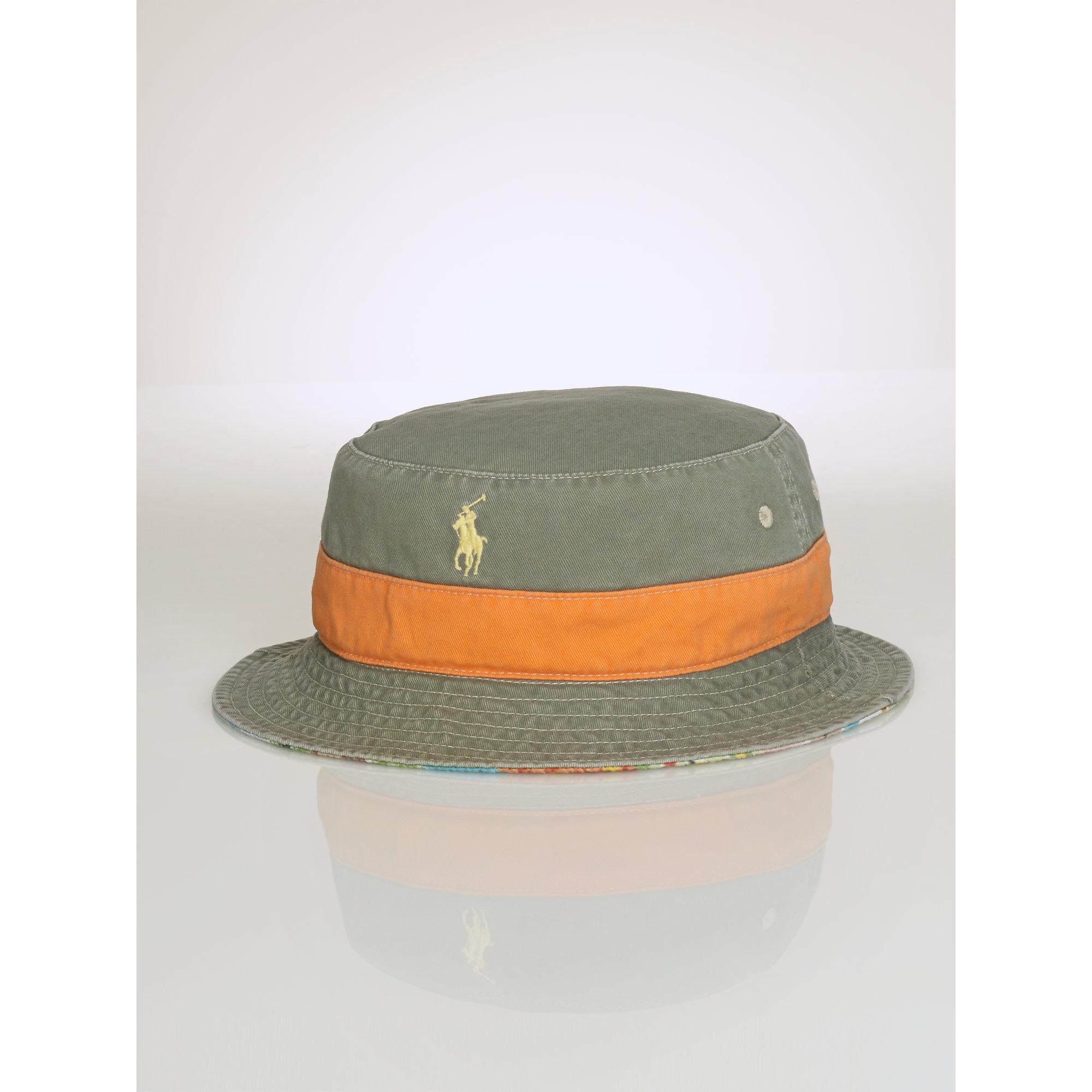 26e7ade362e Lyst - Polo Ralph Lauren Reversible Hawaiian Bucket Hat in Blue for Men