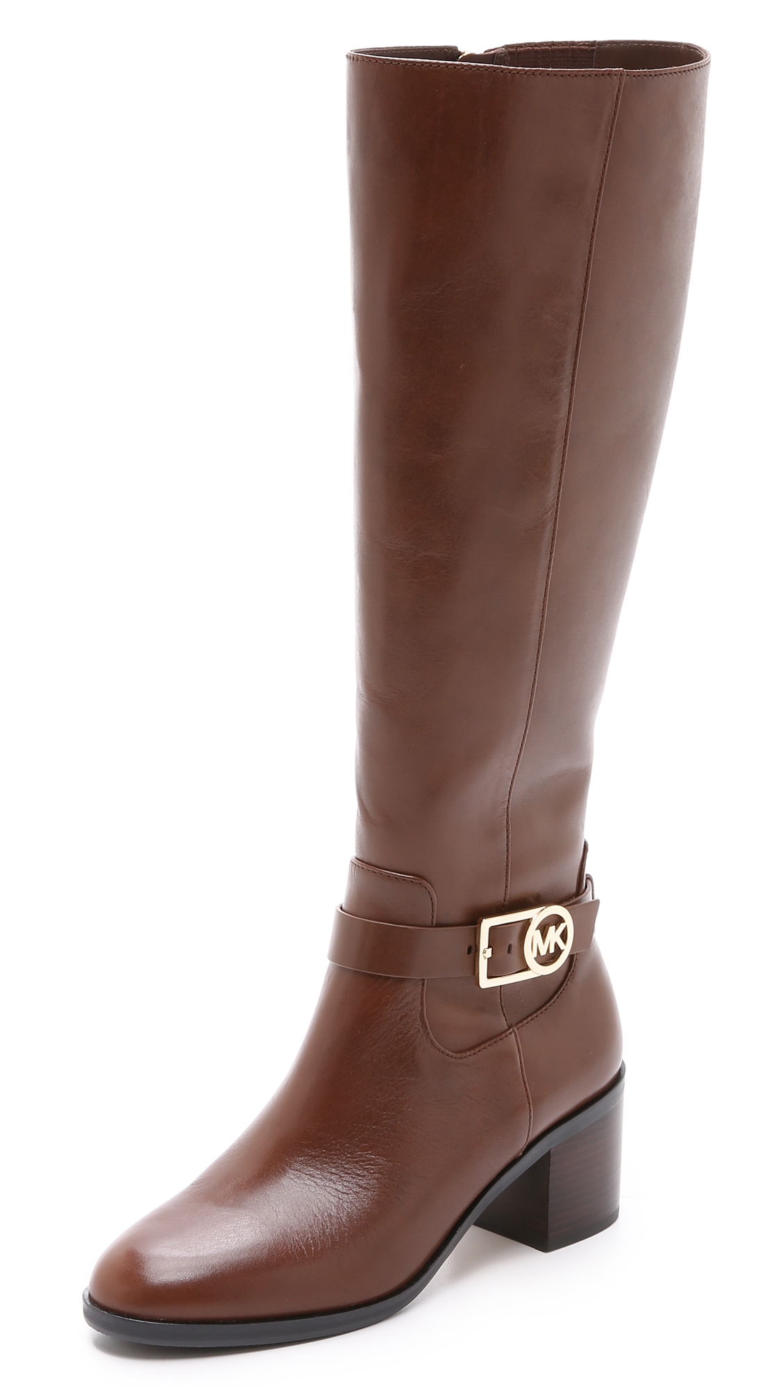 michael michael kors bryce boots in brown lyst
