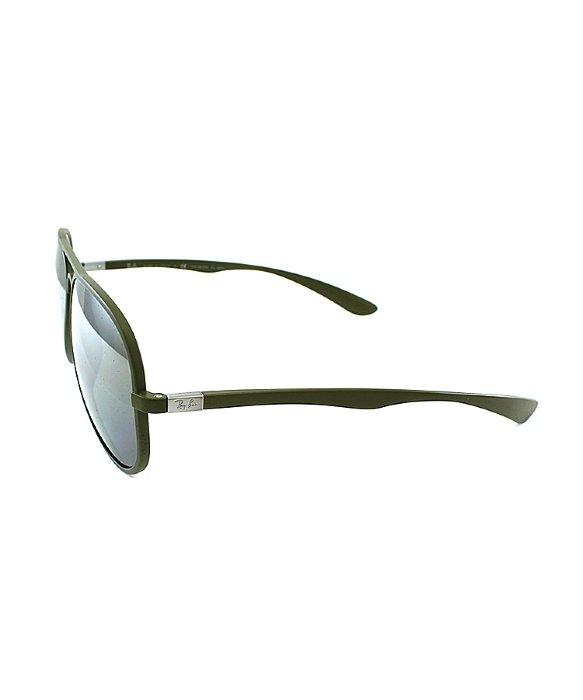 d5d87d9383 ... sunglasses green 658ae c8043  discount lyst ray ban ray ban tech rb4180  liteforce aviator 882 82 matte bcea5 e9e37