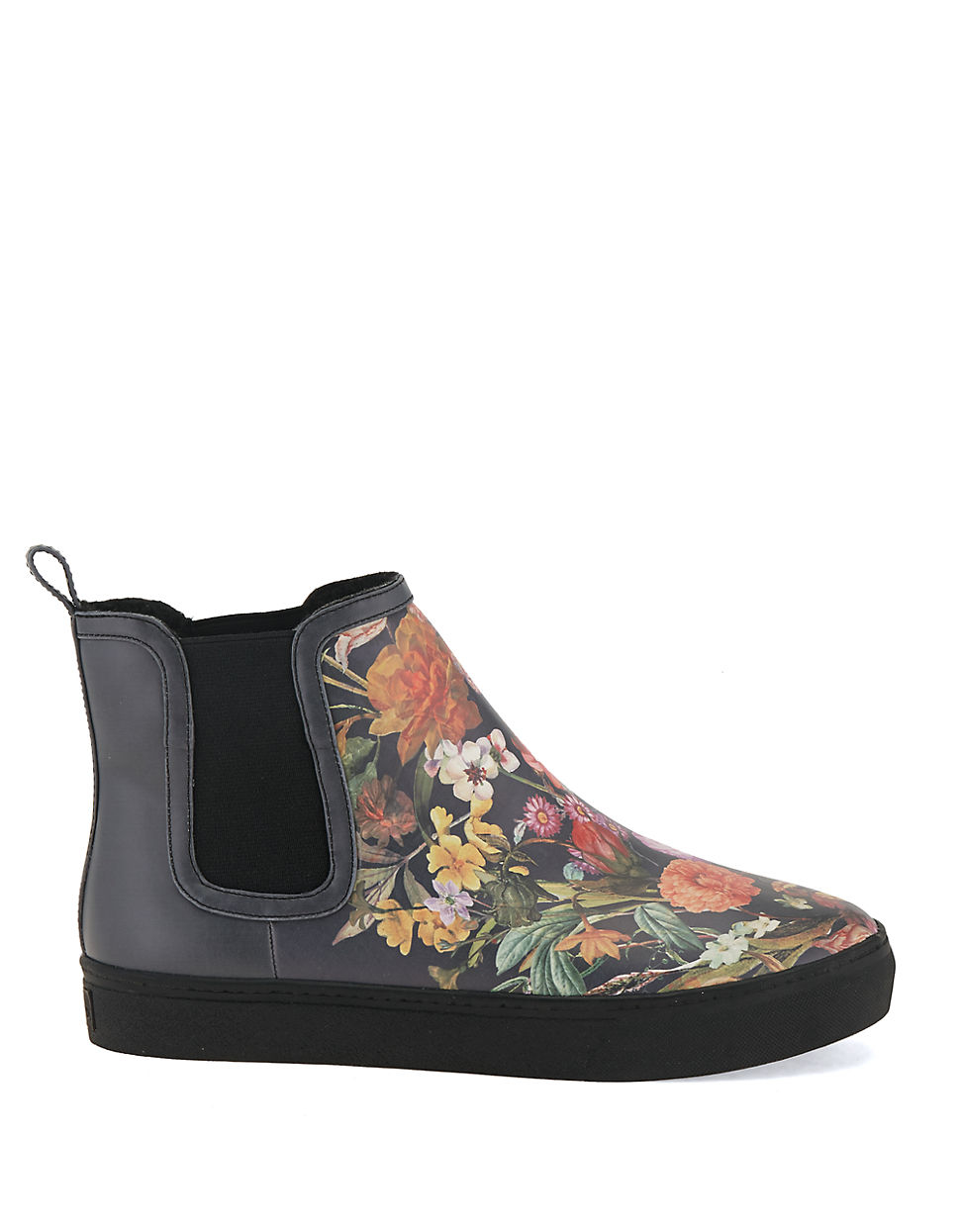 elliott lucca palmira sherpa lined ankle boots in