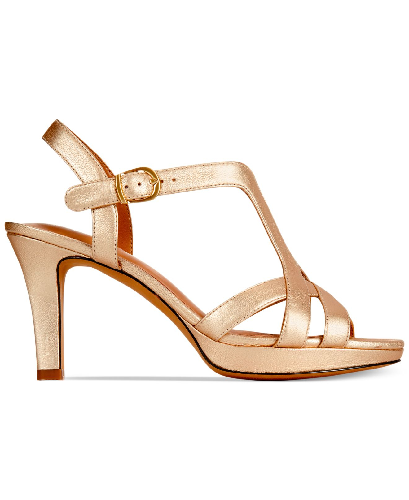 631fb657e91b Lyst - Clarks Artisan Women s Delsie Risa Platform Evening Sandals ...