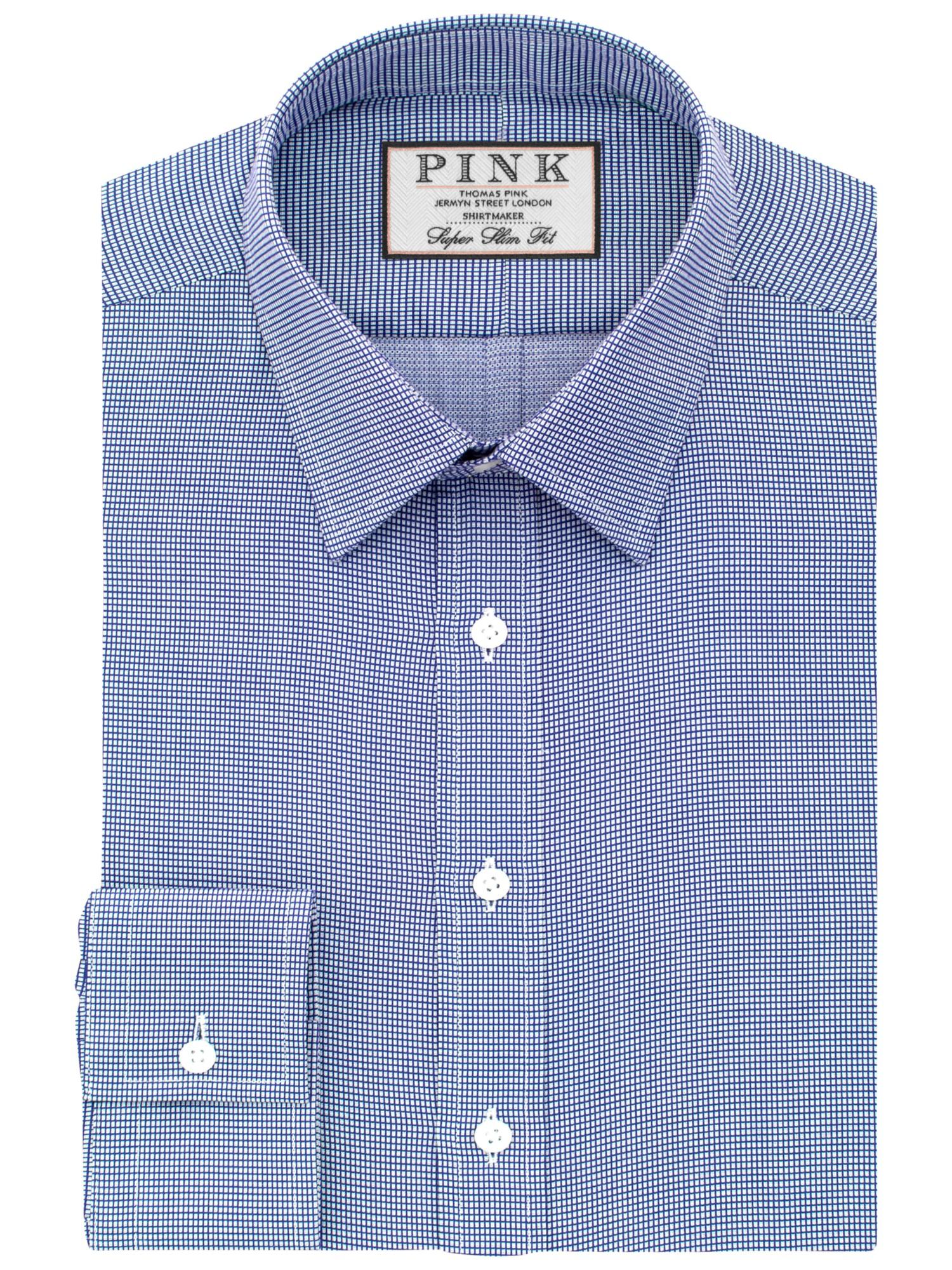 Lyst Thomas Pink Hartley Textured Super Slim Fit Shirt