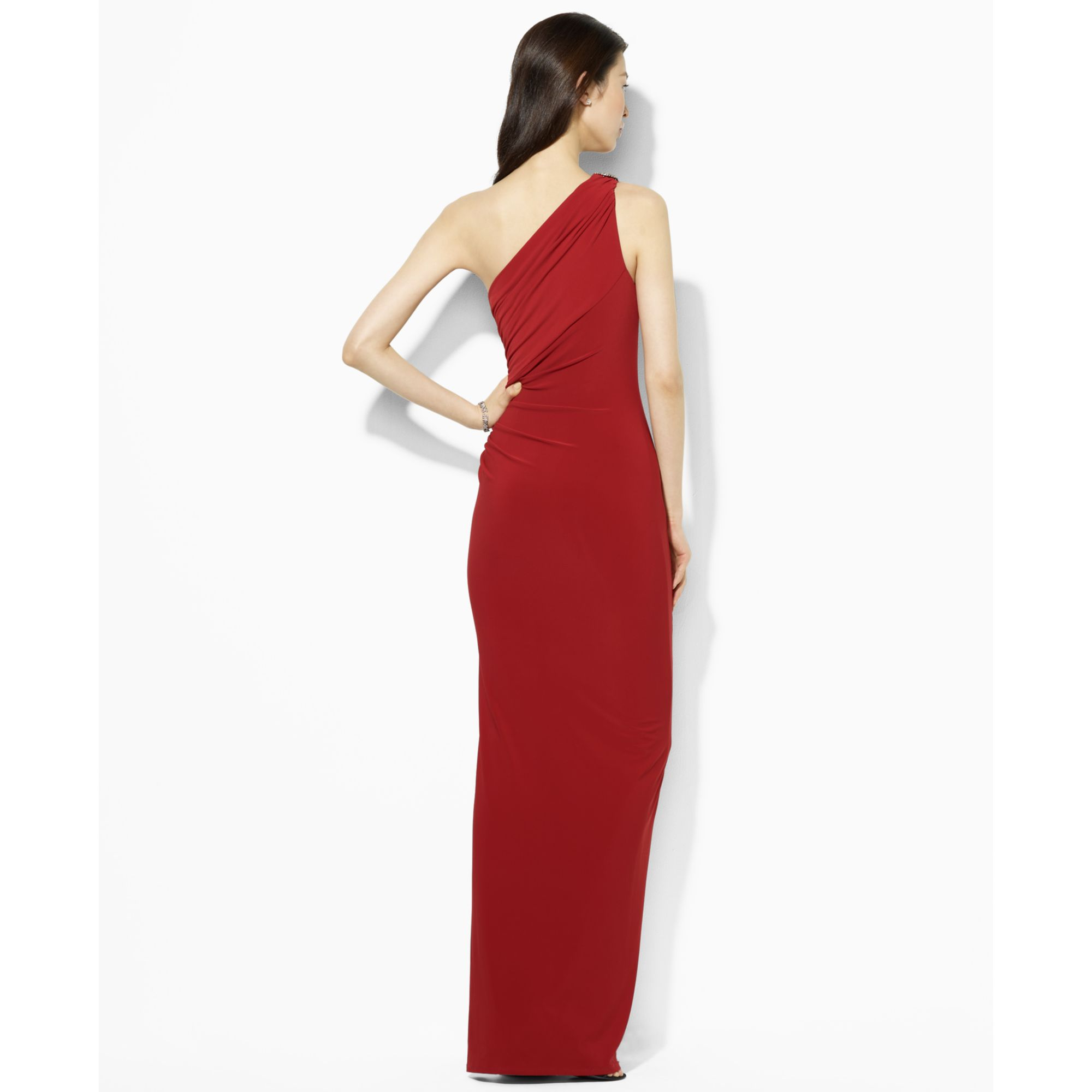 a889257057 Lauren by Ralph Lauren Lauren By Ralph Lauren Dress One Shoulder ...