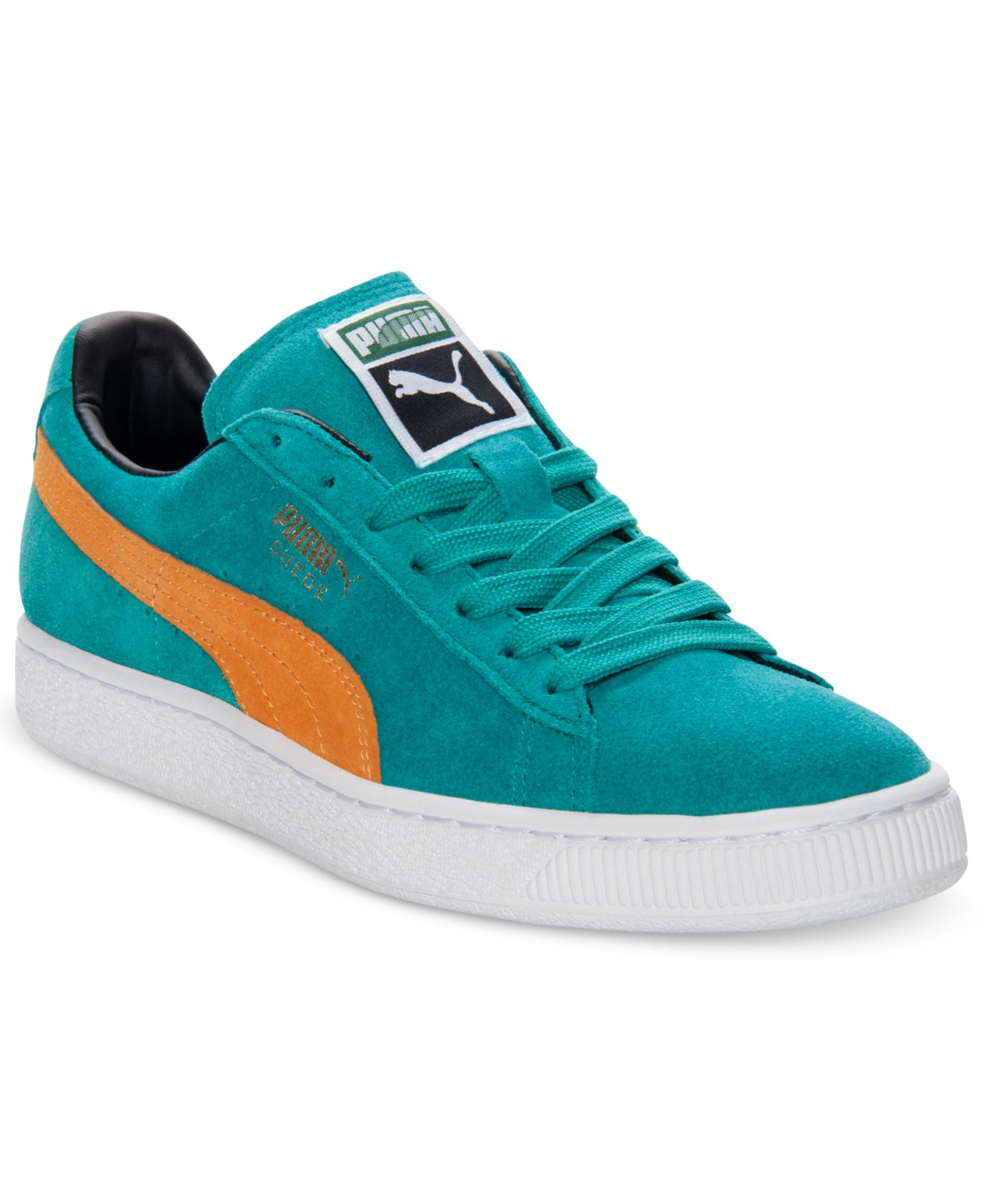 Lyst - PUMA Men S Suede Classic Casual Sneakers From Finish Line in ... 009c8fd01