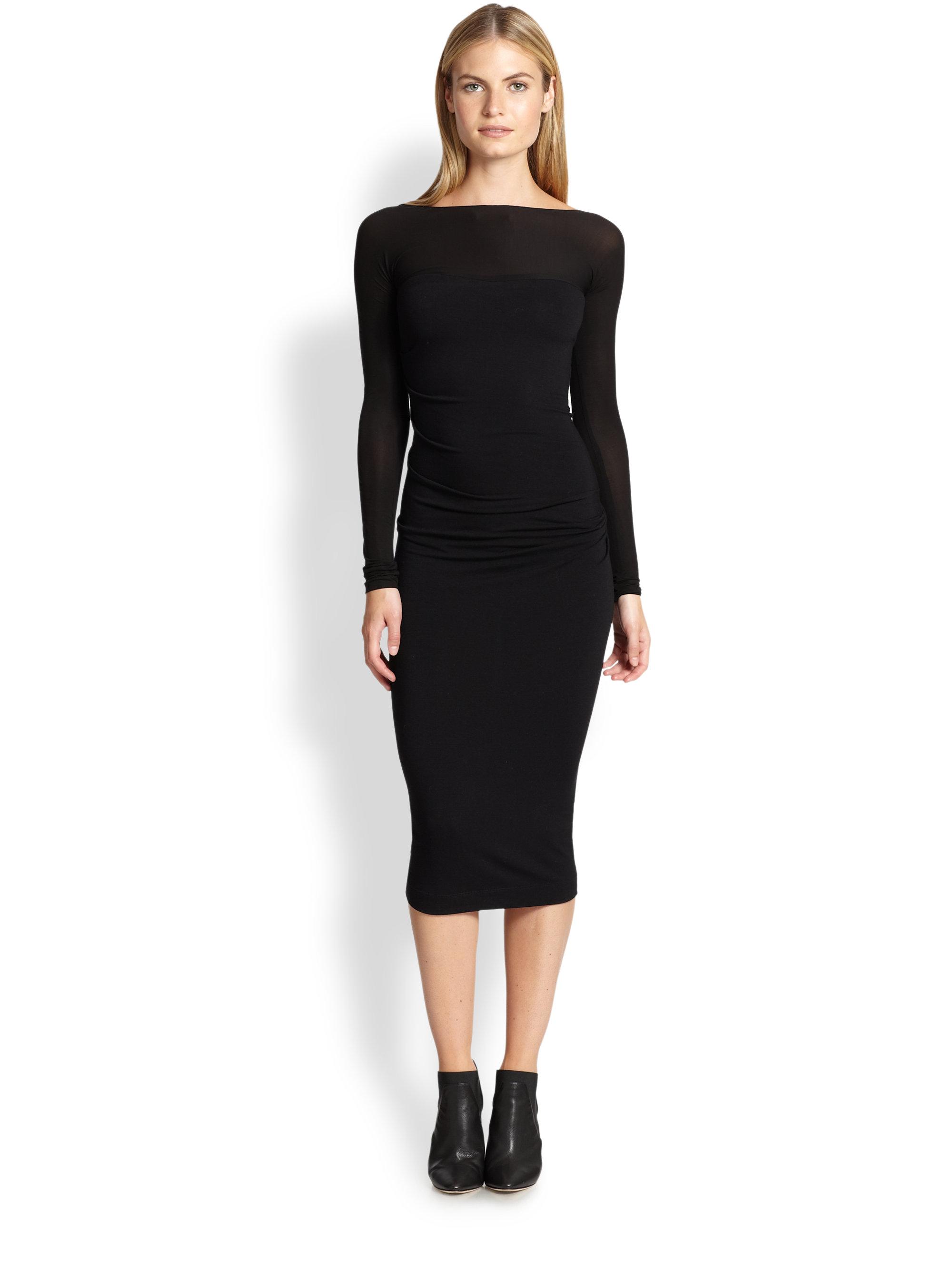 Black dress jersey - Gallery