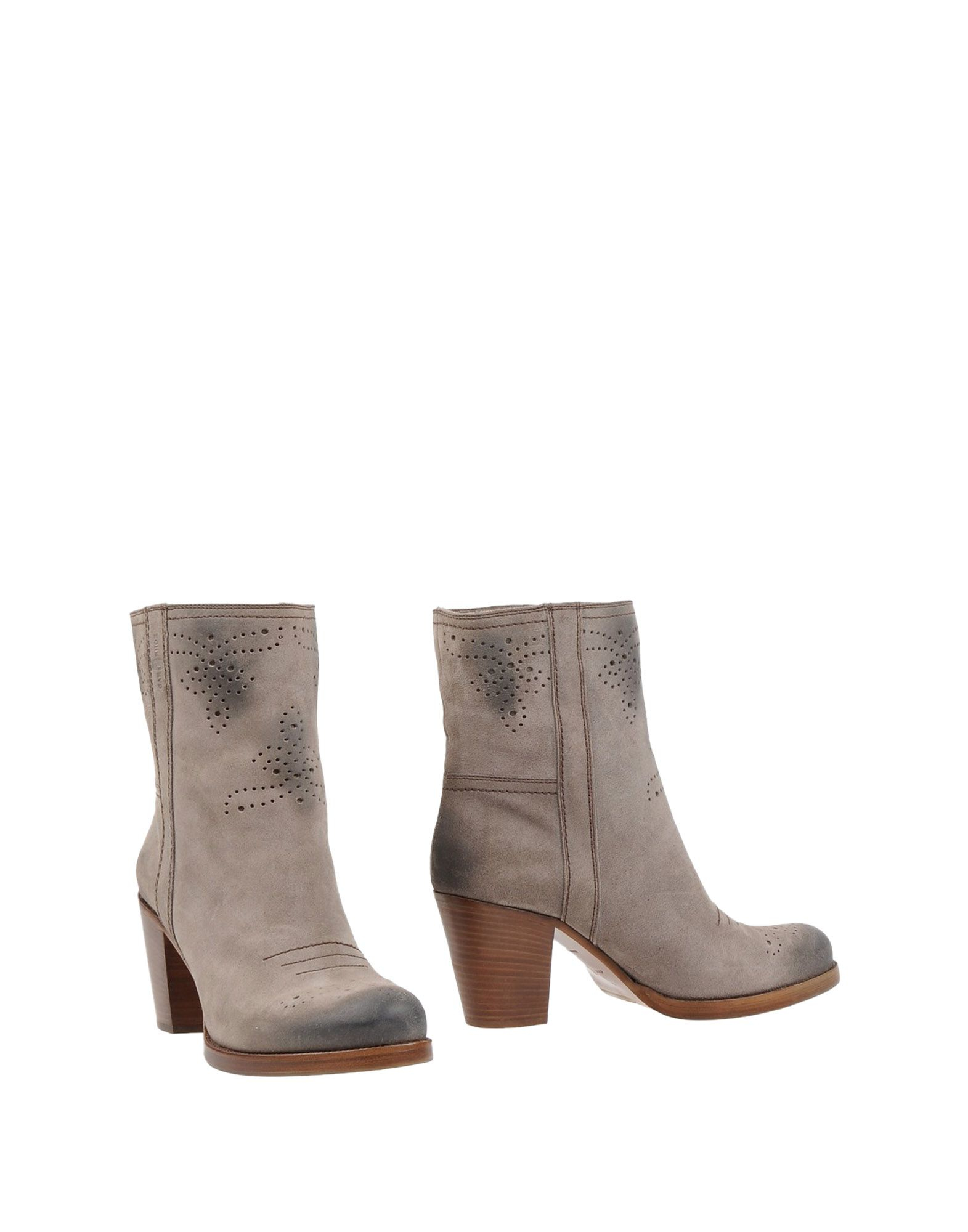 lyst car shoe ankle boots in gray. Black Bedroom Furniture Sets. Home Design Ideas