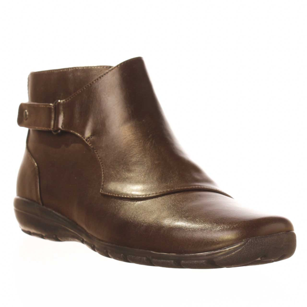Lyst Easy Spirit Ankling Ankle Boot In Brown