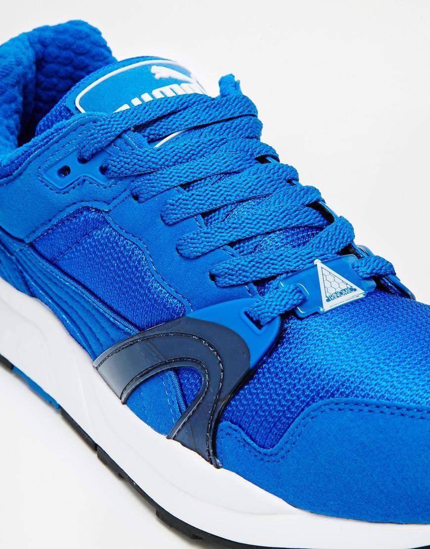 Womens PUMA TRINOMIC XT 1 PLUS Blue Trainers 355867 07