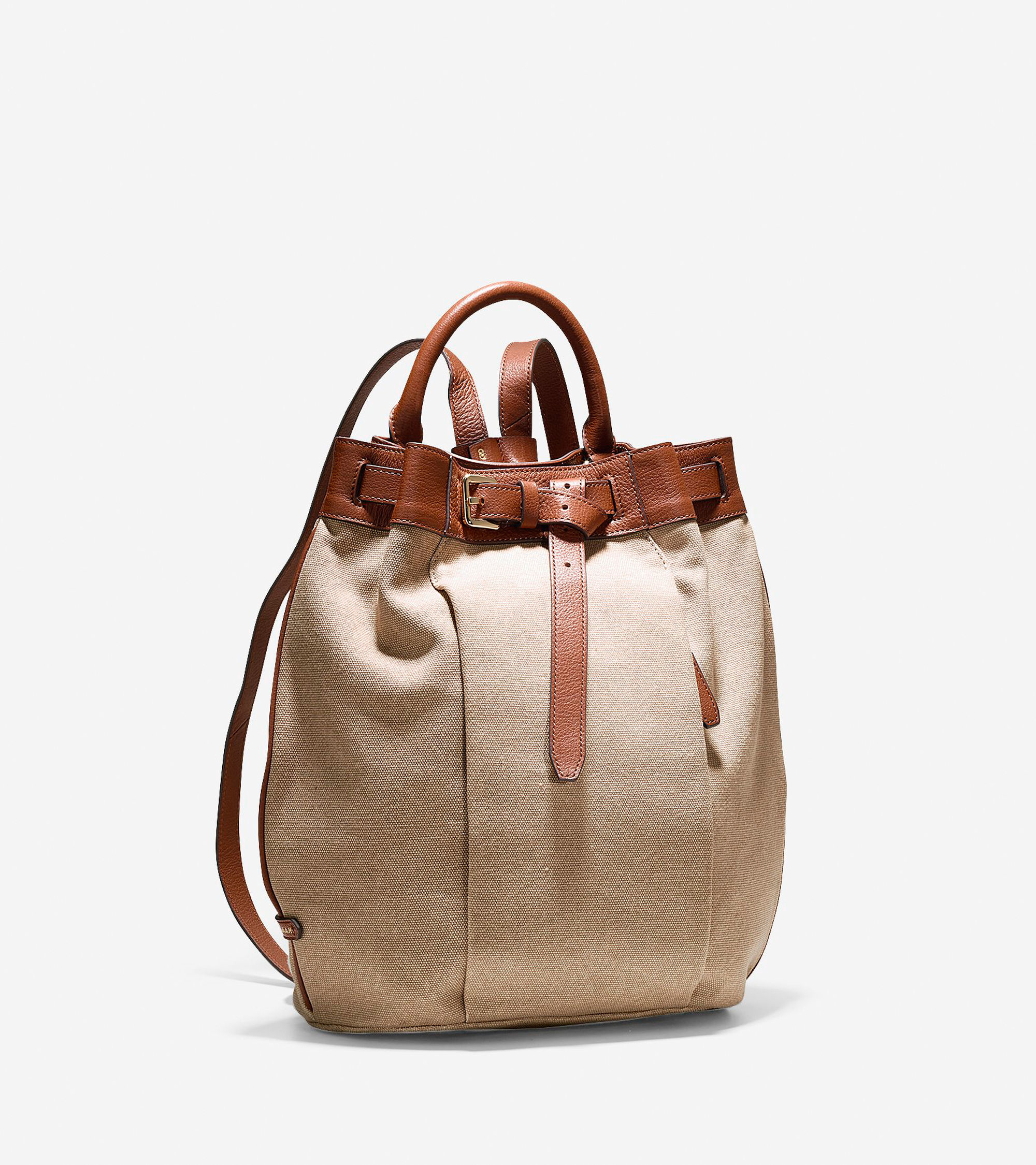 Cole haan Emery Canvas Backpack in Brown