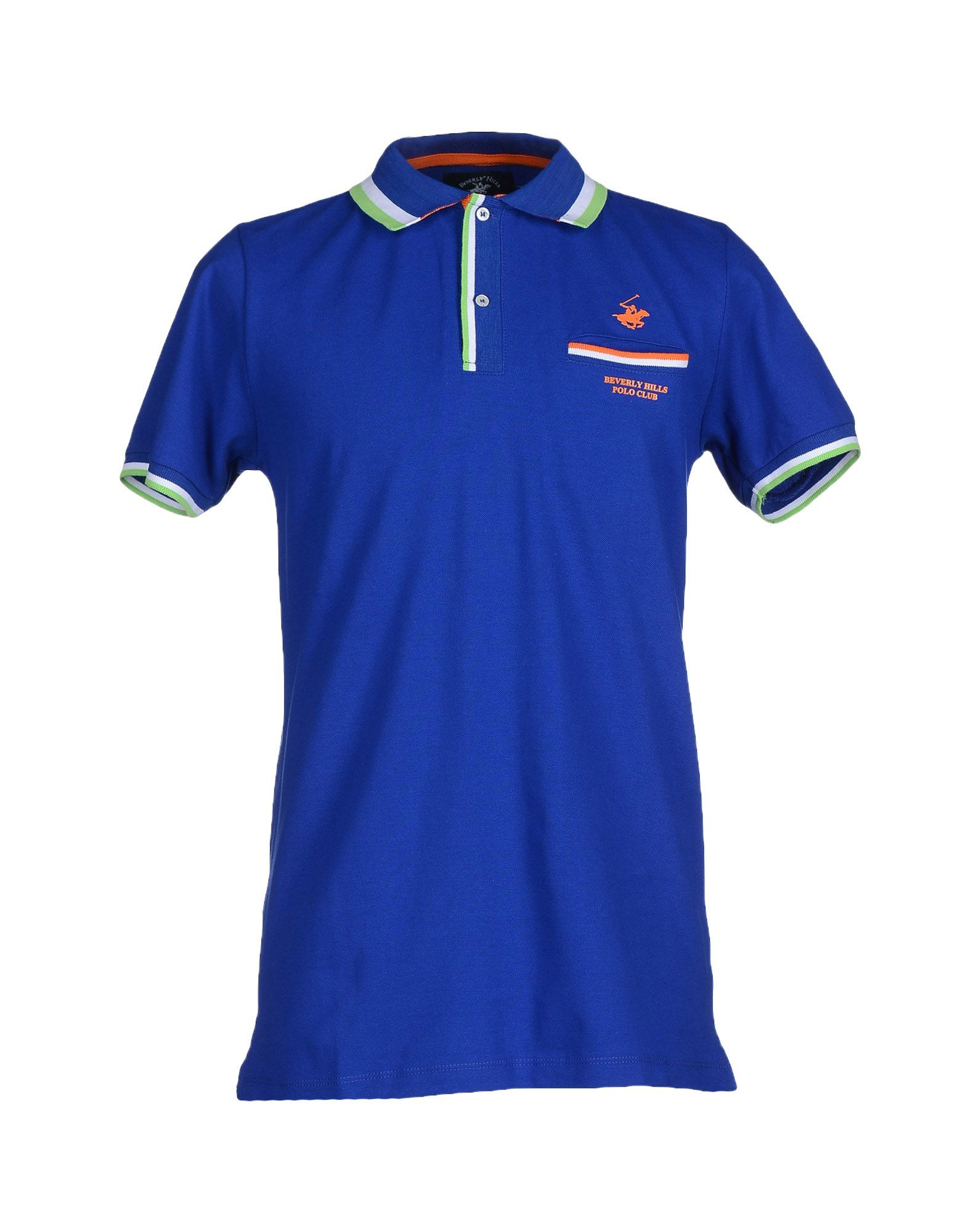 Beverly Hills Polo Club Polo Shirt In Blue For Men Lyst