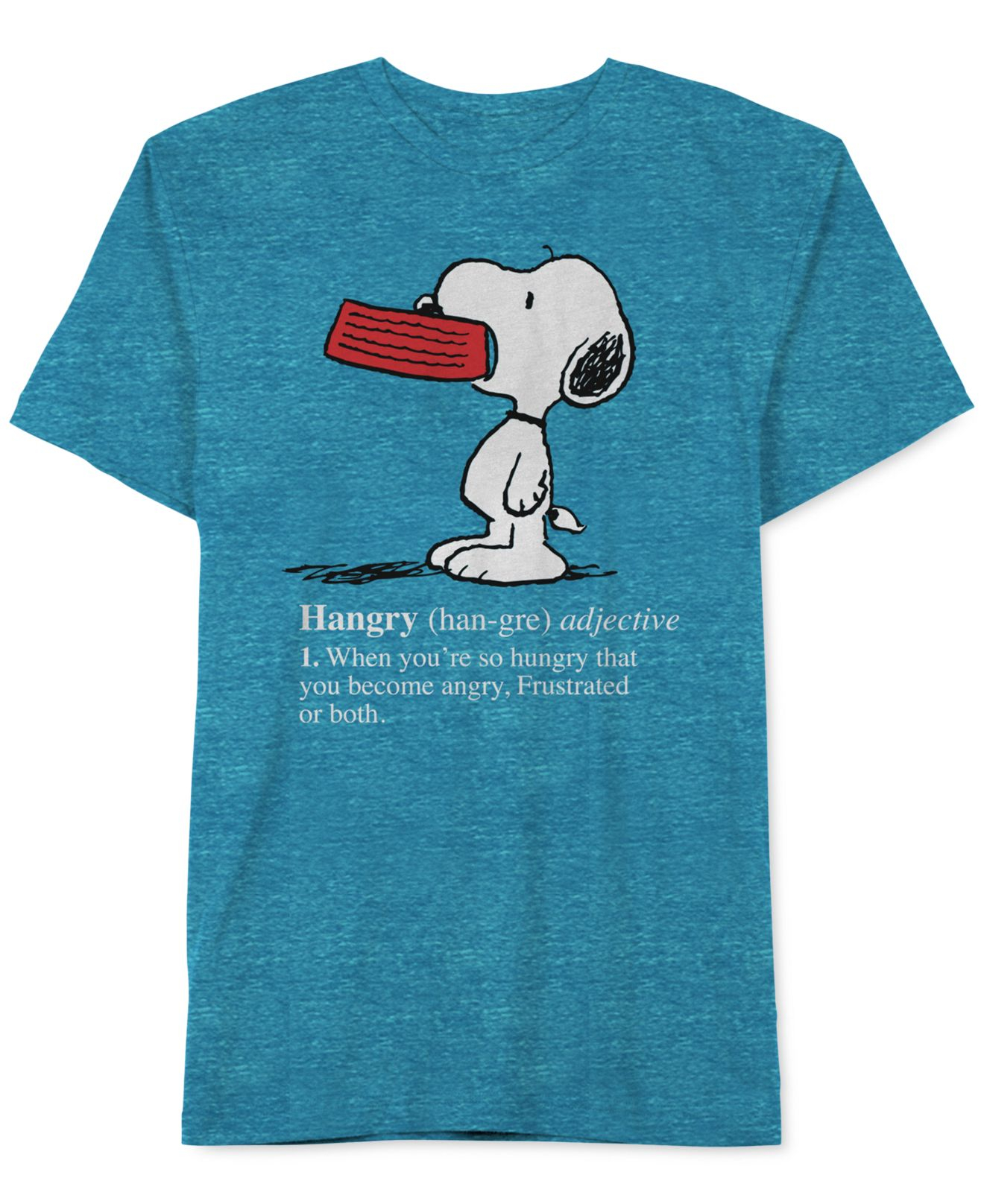 jem men 39 s peanuts hangry snoopy t shirt in blue for men lyst. Black Bedroom Furniture Sets. Home Design Ideas