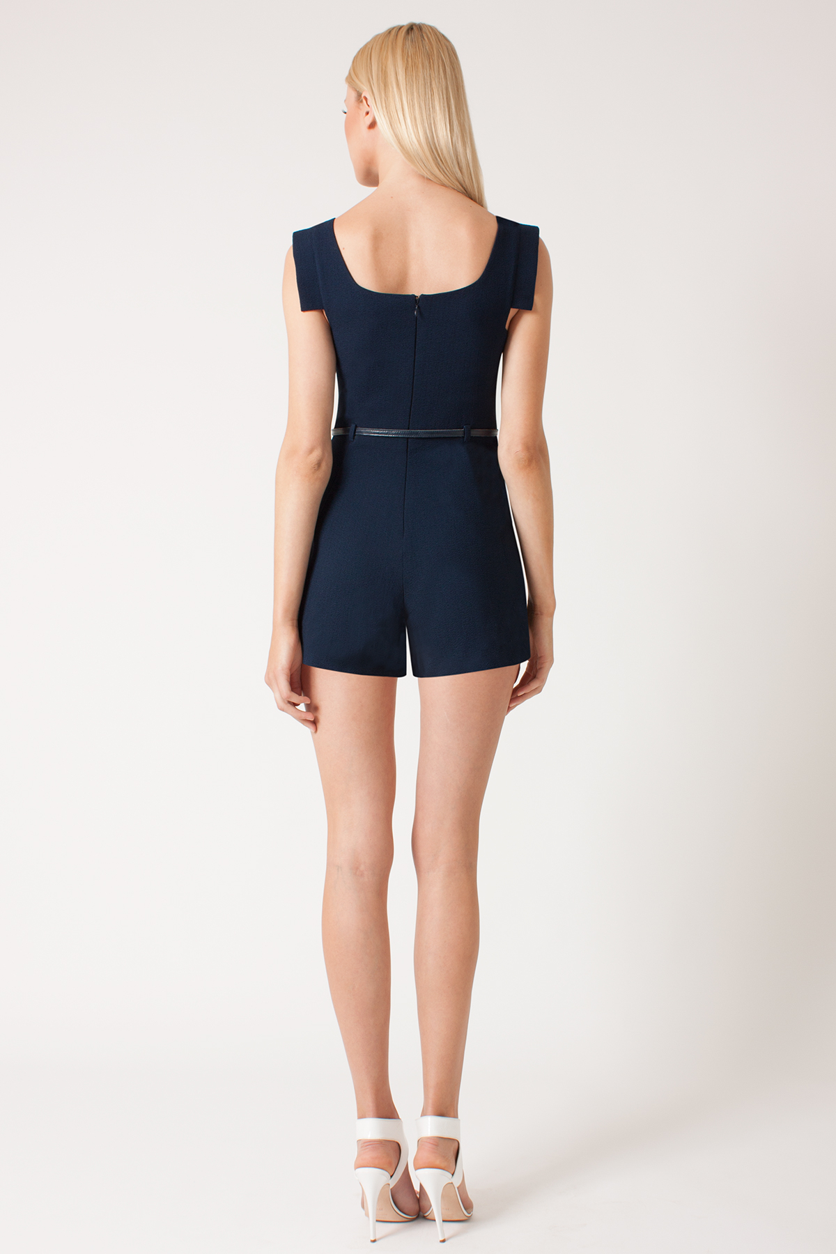 675ed3f0934 Black Halo Jackie O Romper in Blue - Lyst